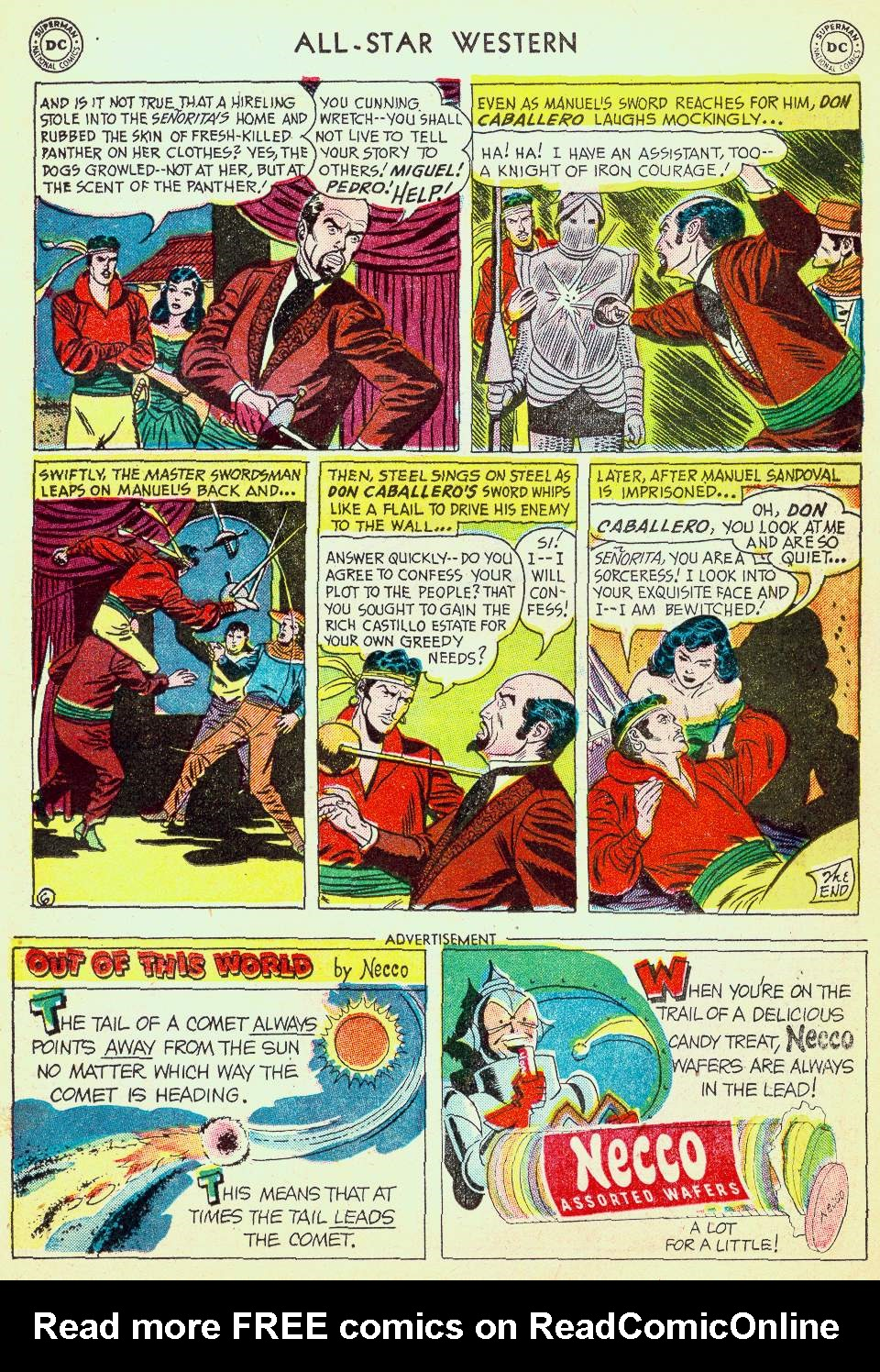 Read online All-Star Western (1951) comic -  Issue #63 - 23