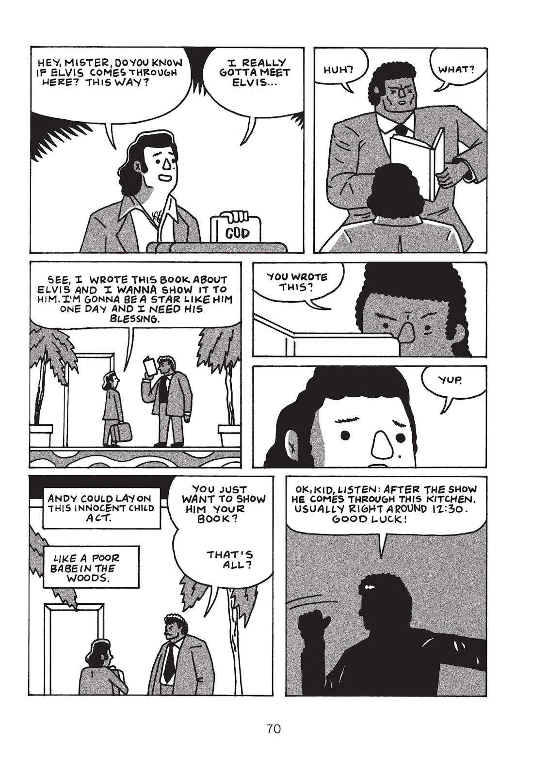 Read online Is This Guy For Real?: The Unbelievable Andy Kaufman comic -  Issue # TPB (Part 1) - 75