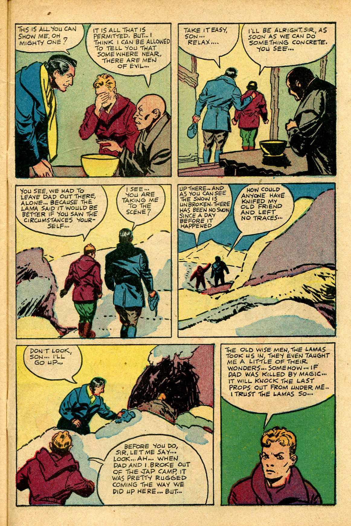 Read online Shadow Comics comic -  Issue #69 - 43