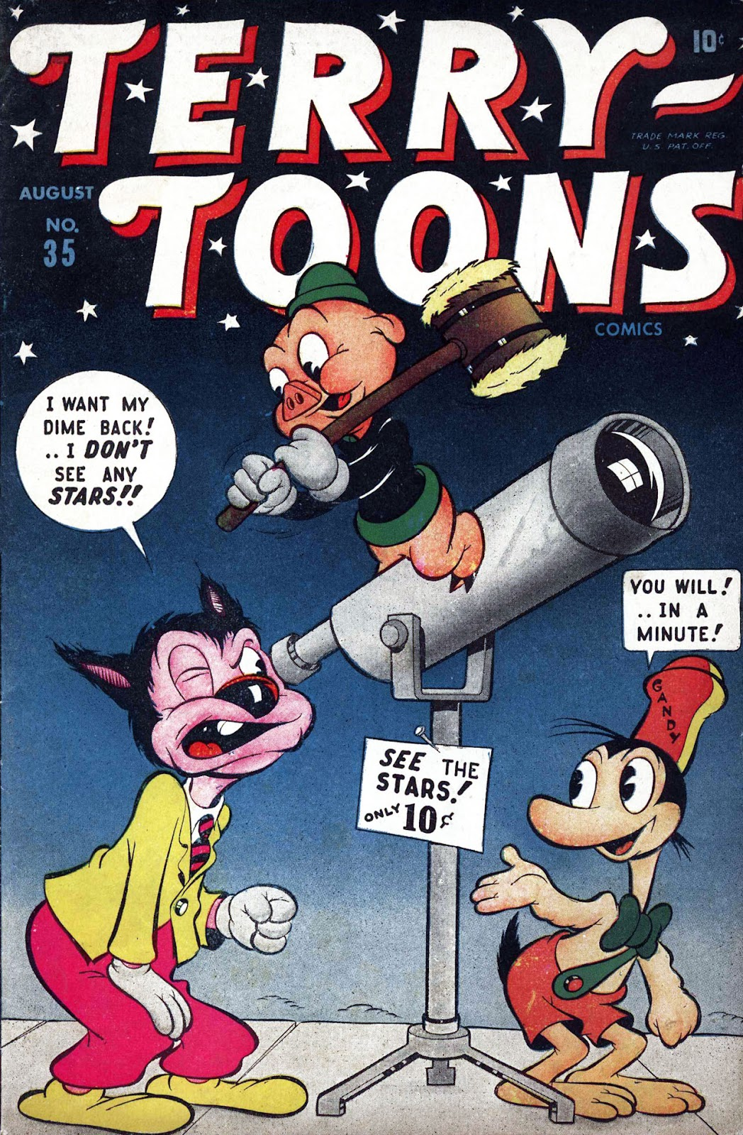 Terry-Toons Comics issue 35 - Page 1