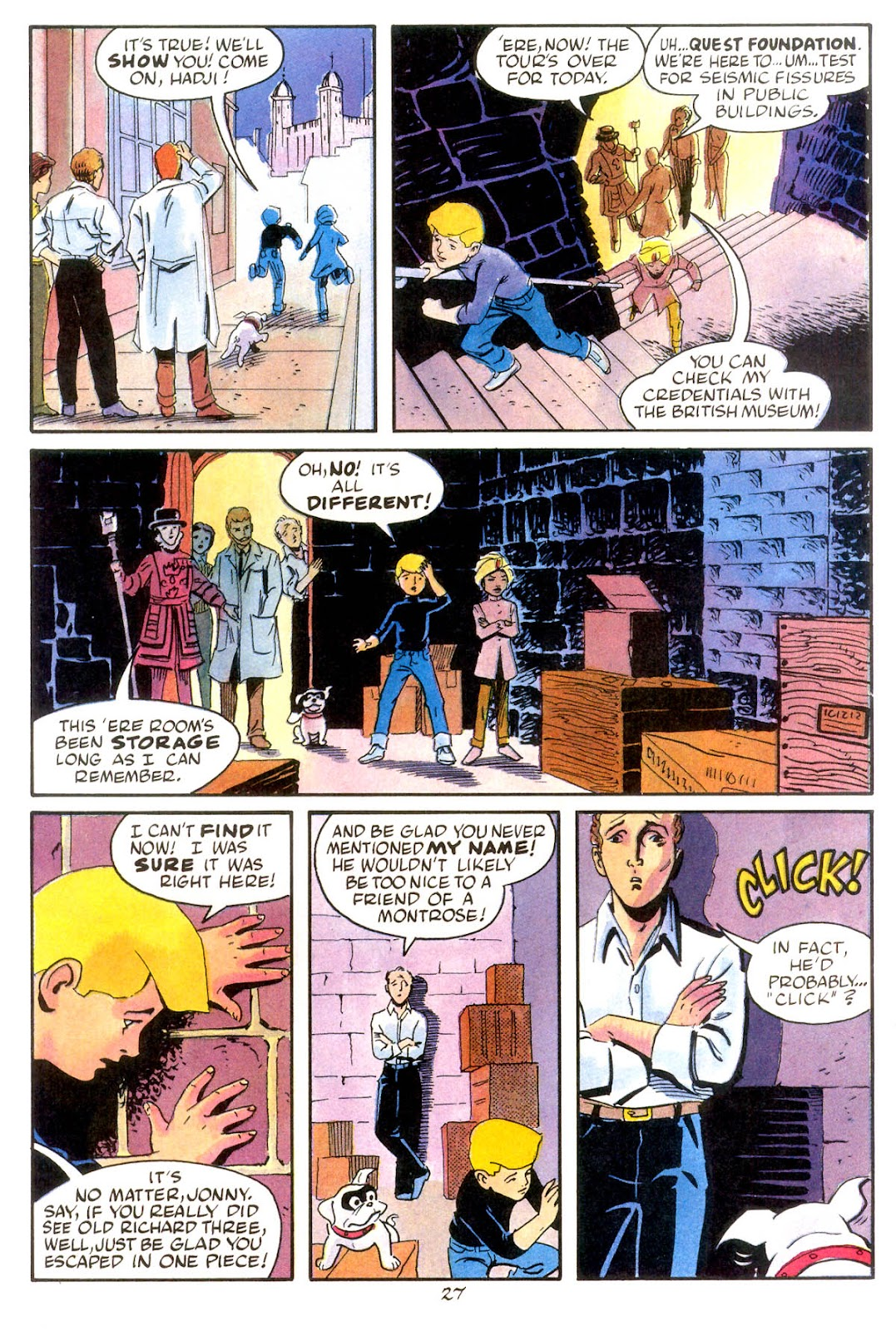 Jonny Quest (1986) issue 10 - Page 29