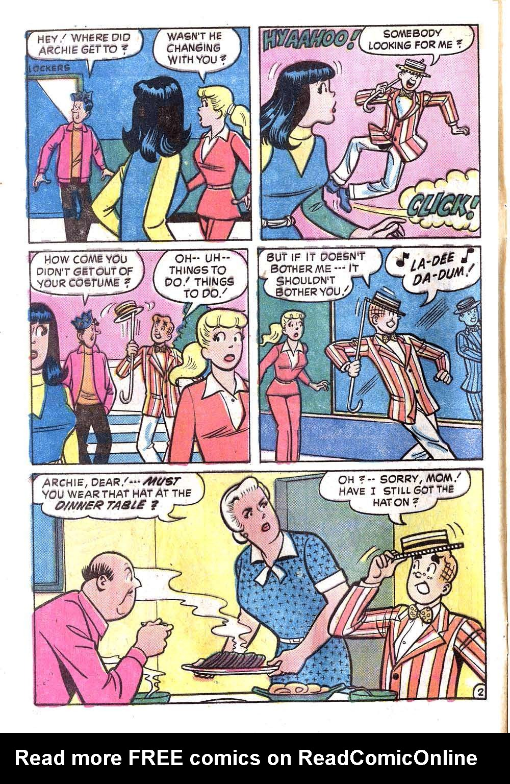 Read online Archie (1960) comic -  Issue #236 - 4