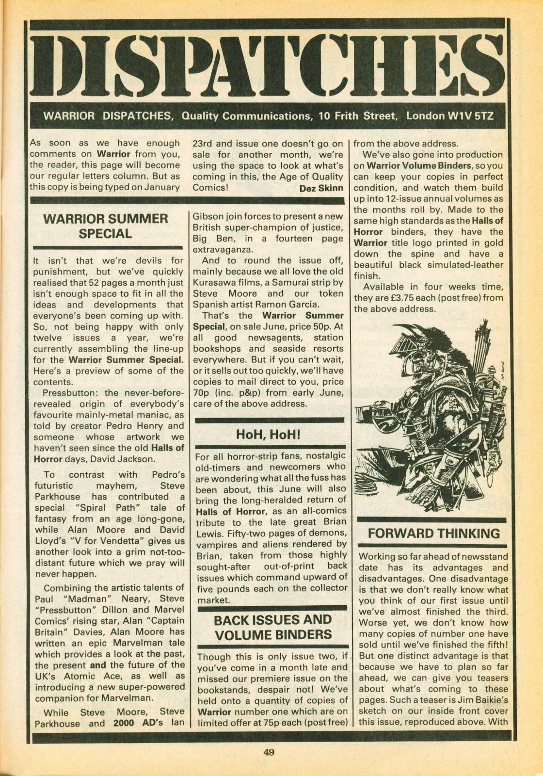 Warrior Issue #2 #3 - English 48