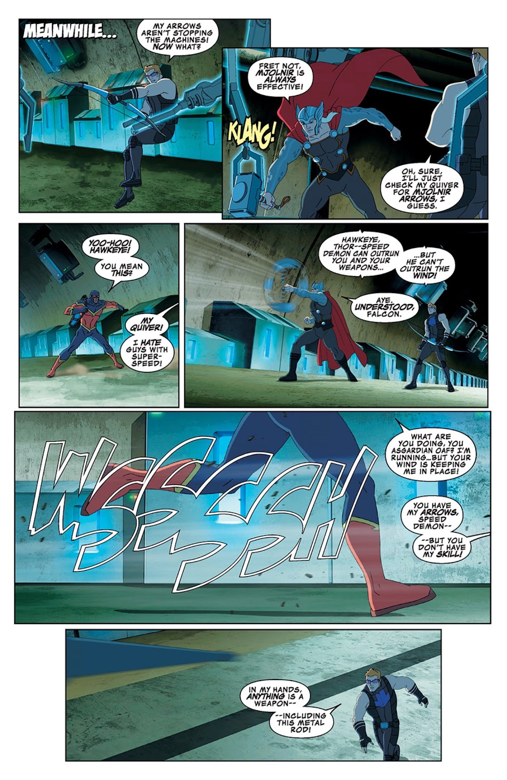 Read online Marvel Universe Avengers Assemble Season 2 comic -  Issue #13 - 12