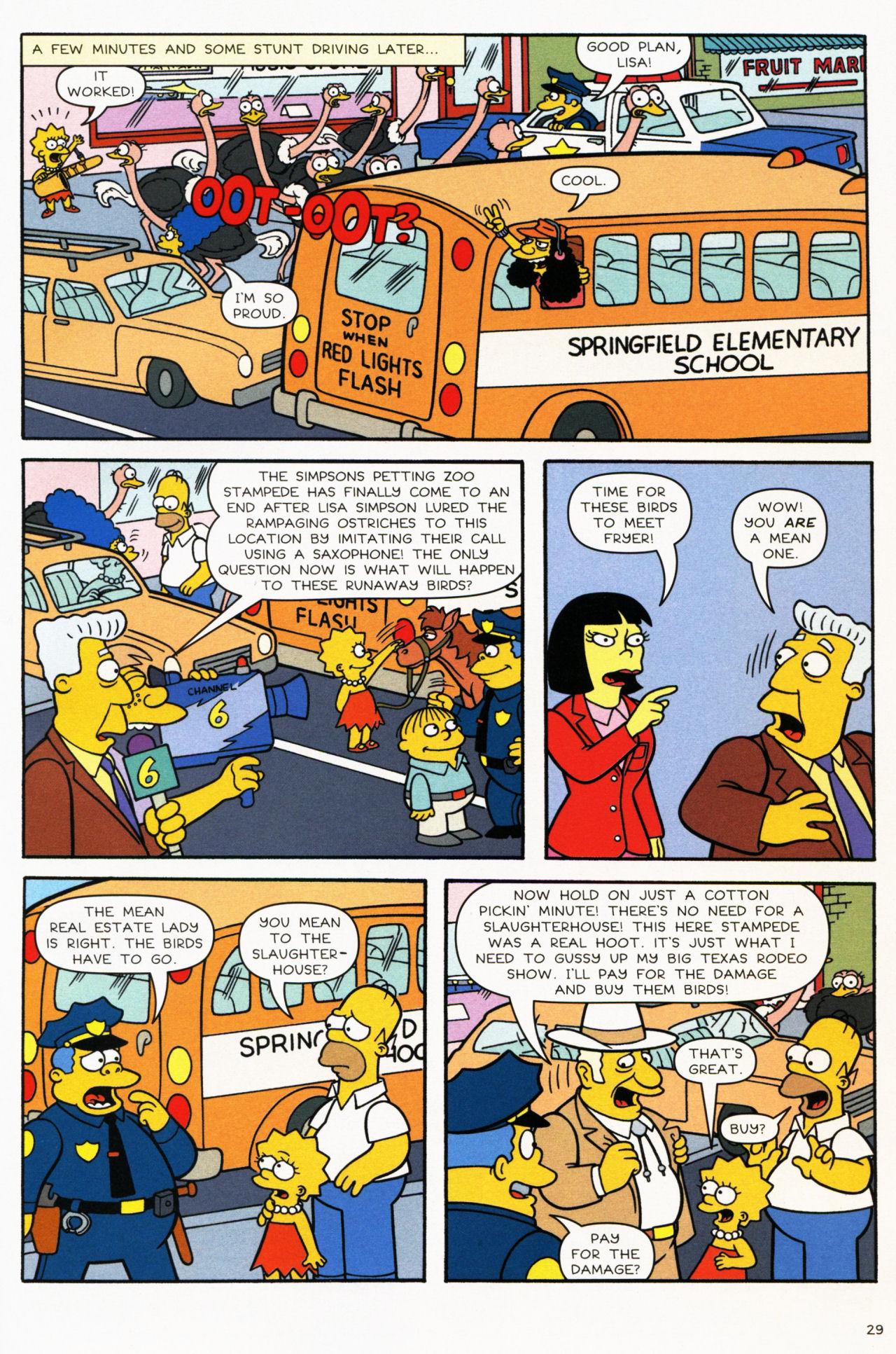 Read online Simpsons Comics comic -  Issue #139 - 25