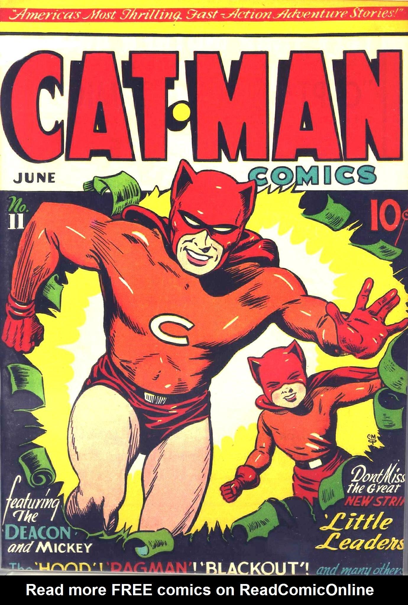 Cat-Man Comics 11 Page 1
