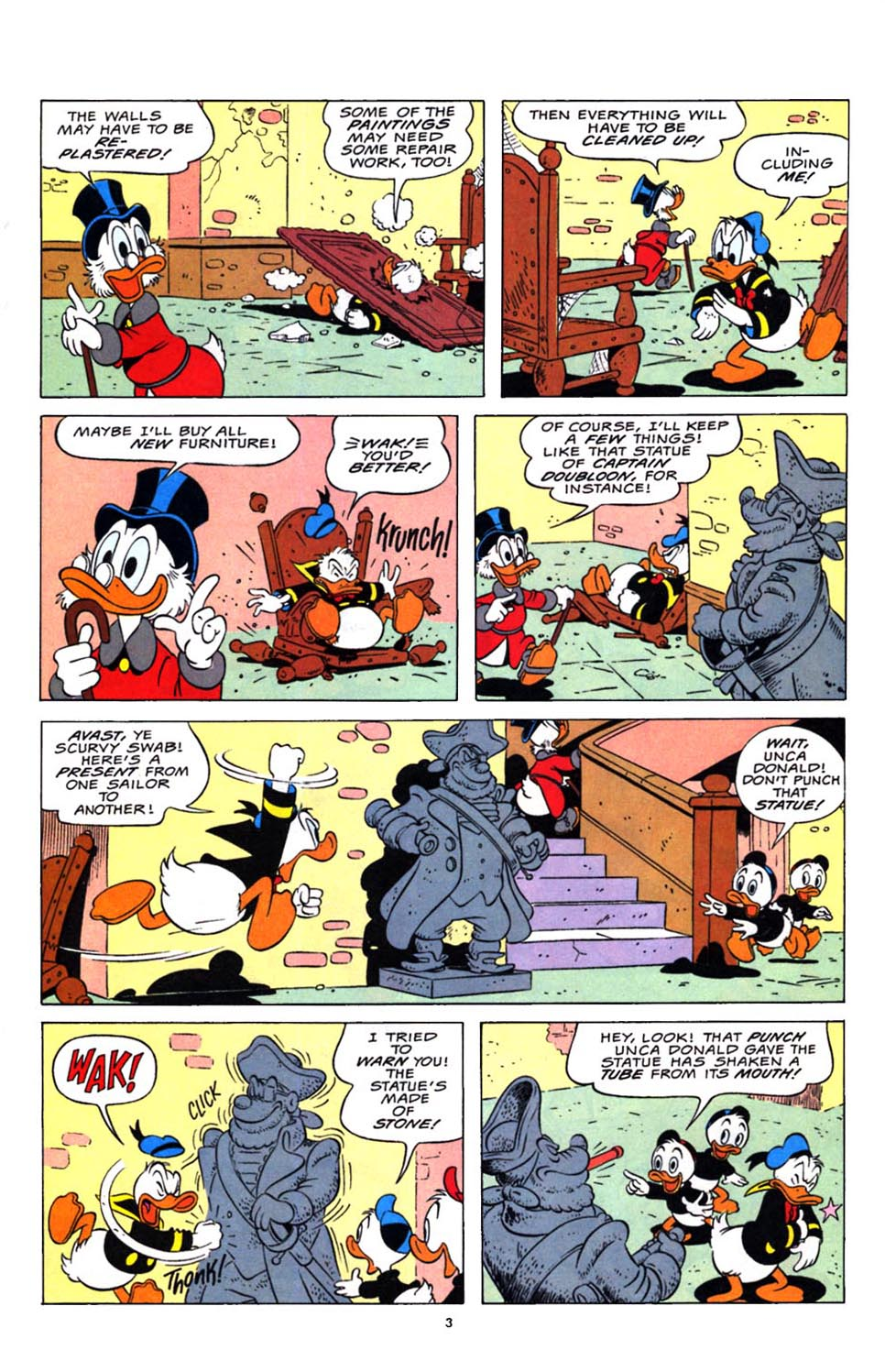 Read online Uncle Scrooge (1953) comic -  Issue #248 - 4
