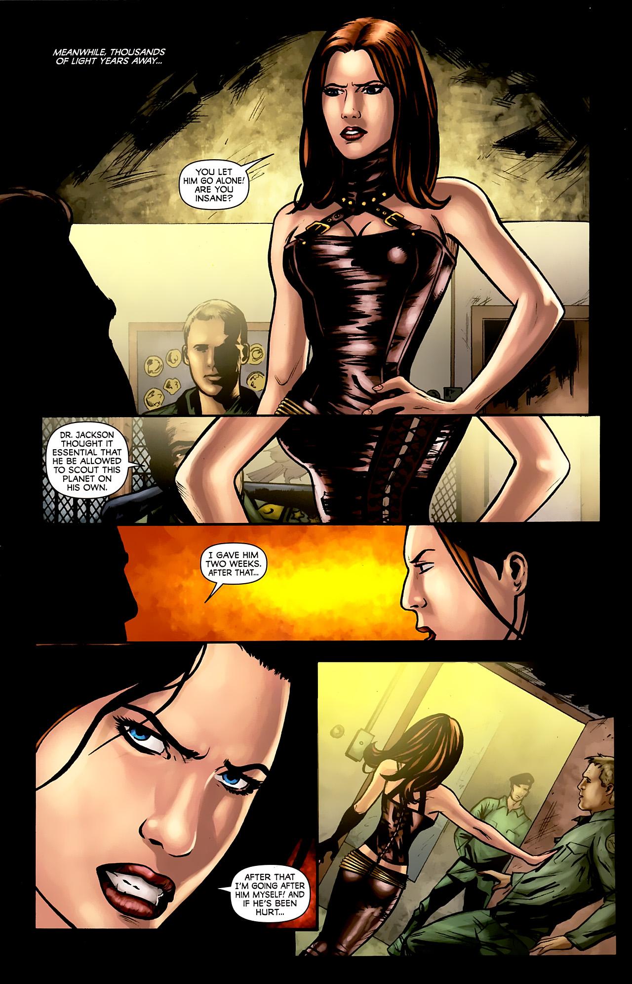 Read online Stargate: Daniel Jackson comic -  Issue #3 - 9