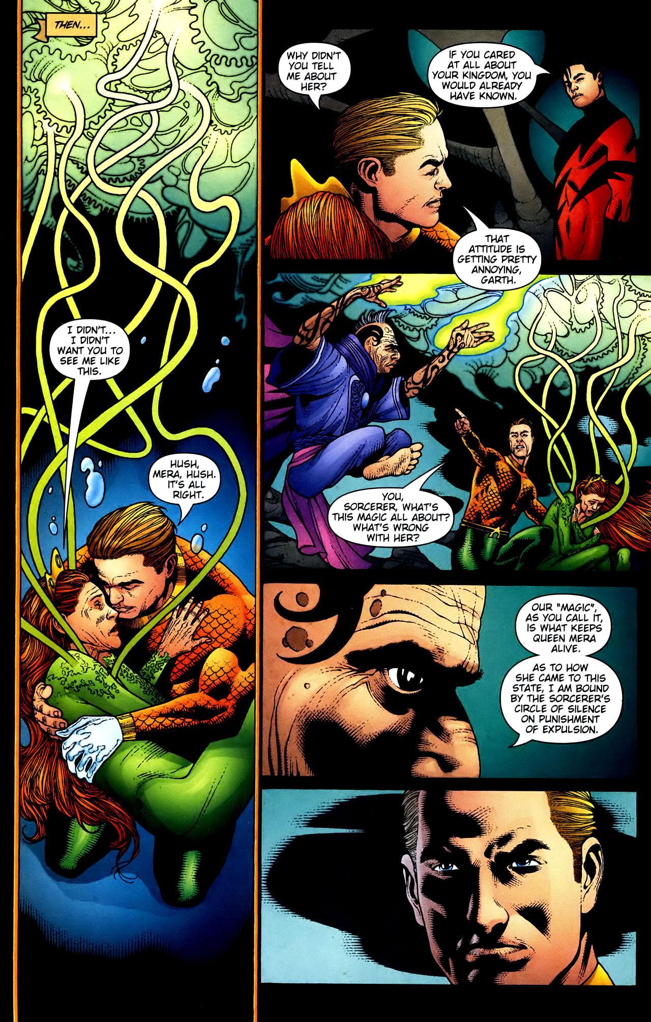Read online Aquaman (2003) comic -  Issue #34 - 6