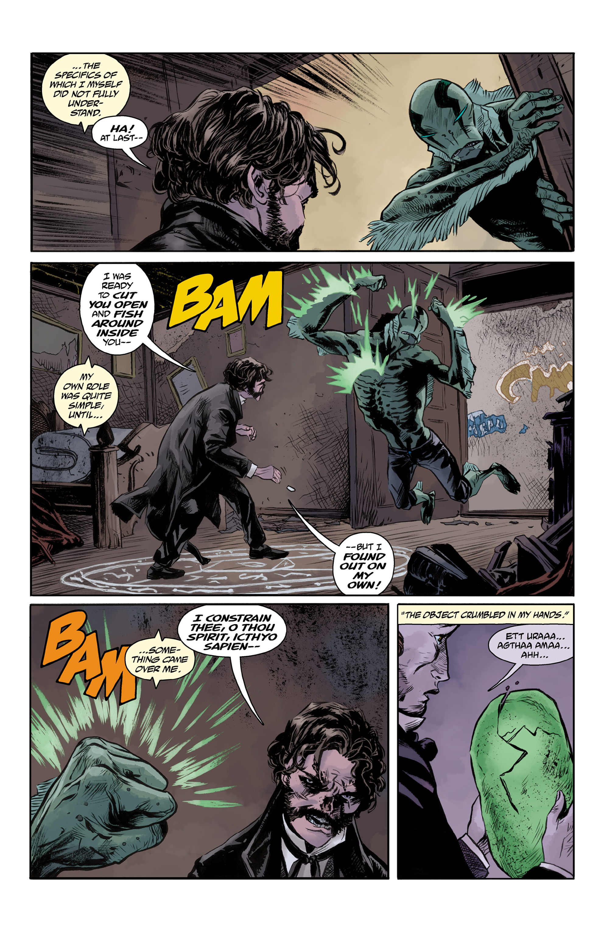 Read online Abe Sapien comic -  Issue #33 - 19