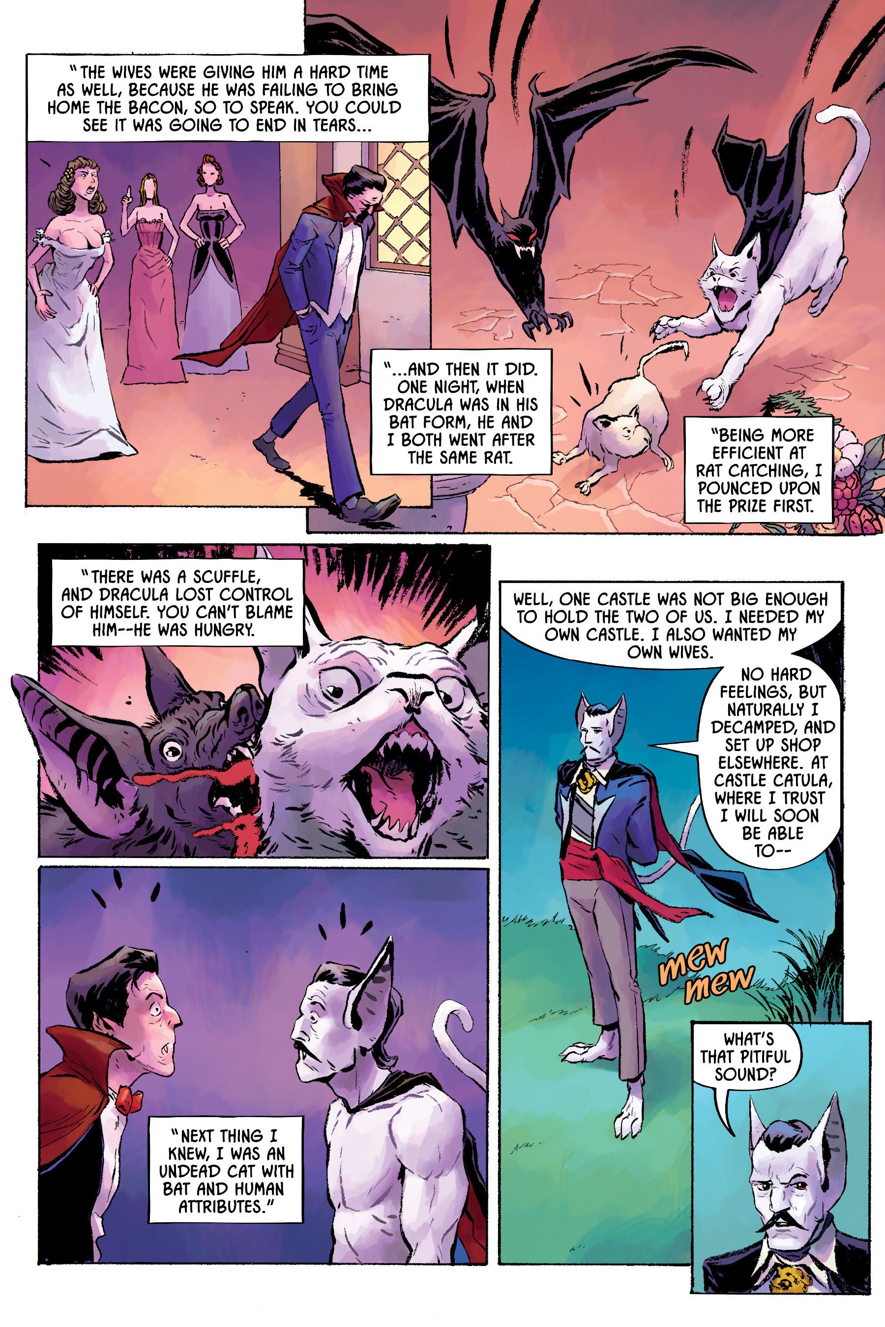 Read online Angel Catbird comic -  Issue # TPB 2 - 42