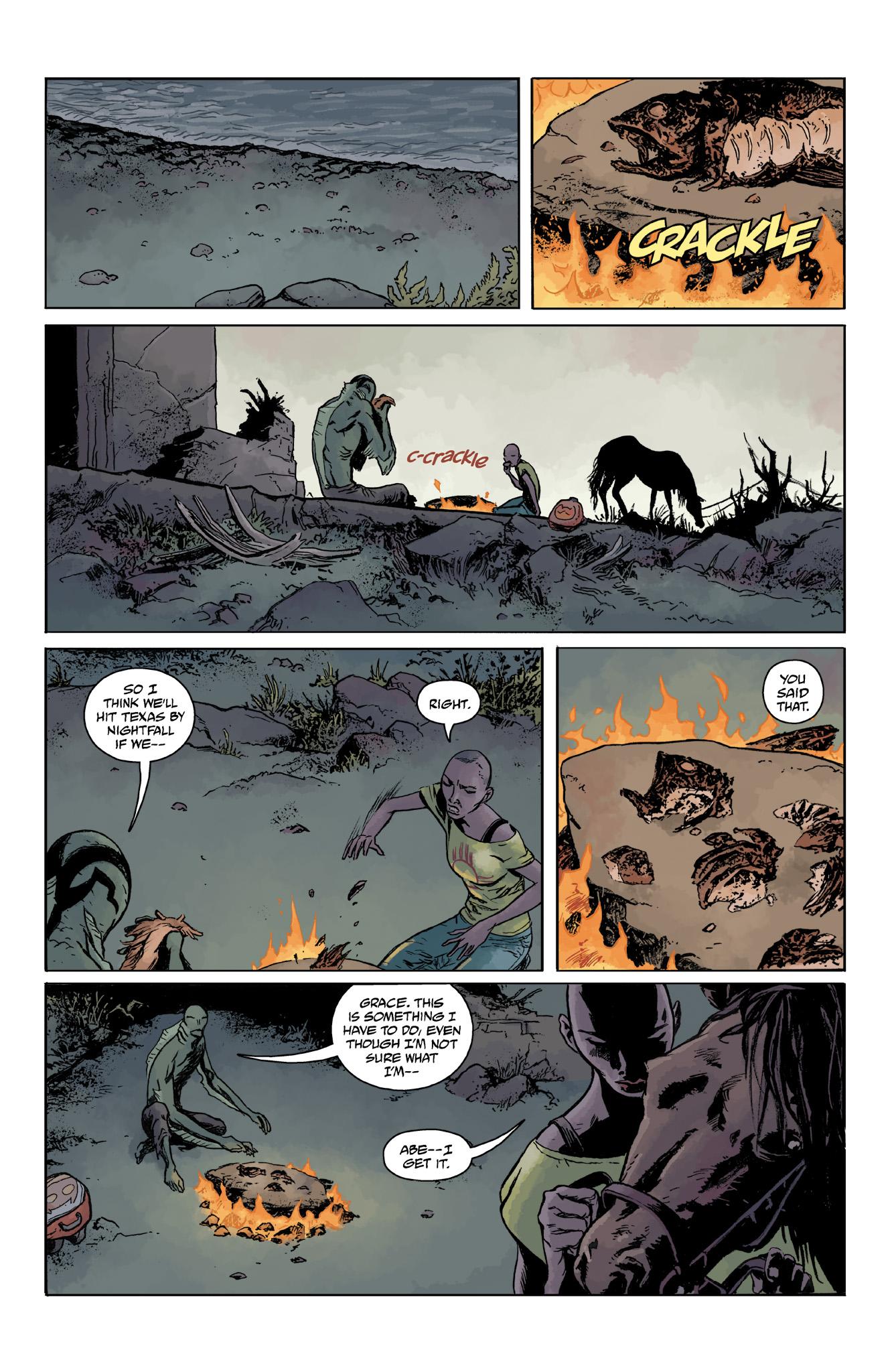 Read online Abe Sapien comic -  Issue #14 - 23