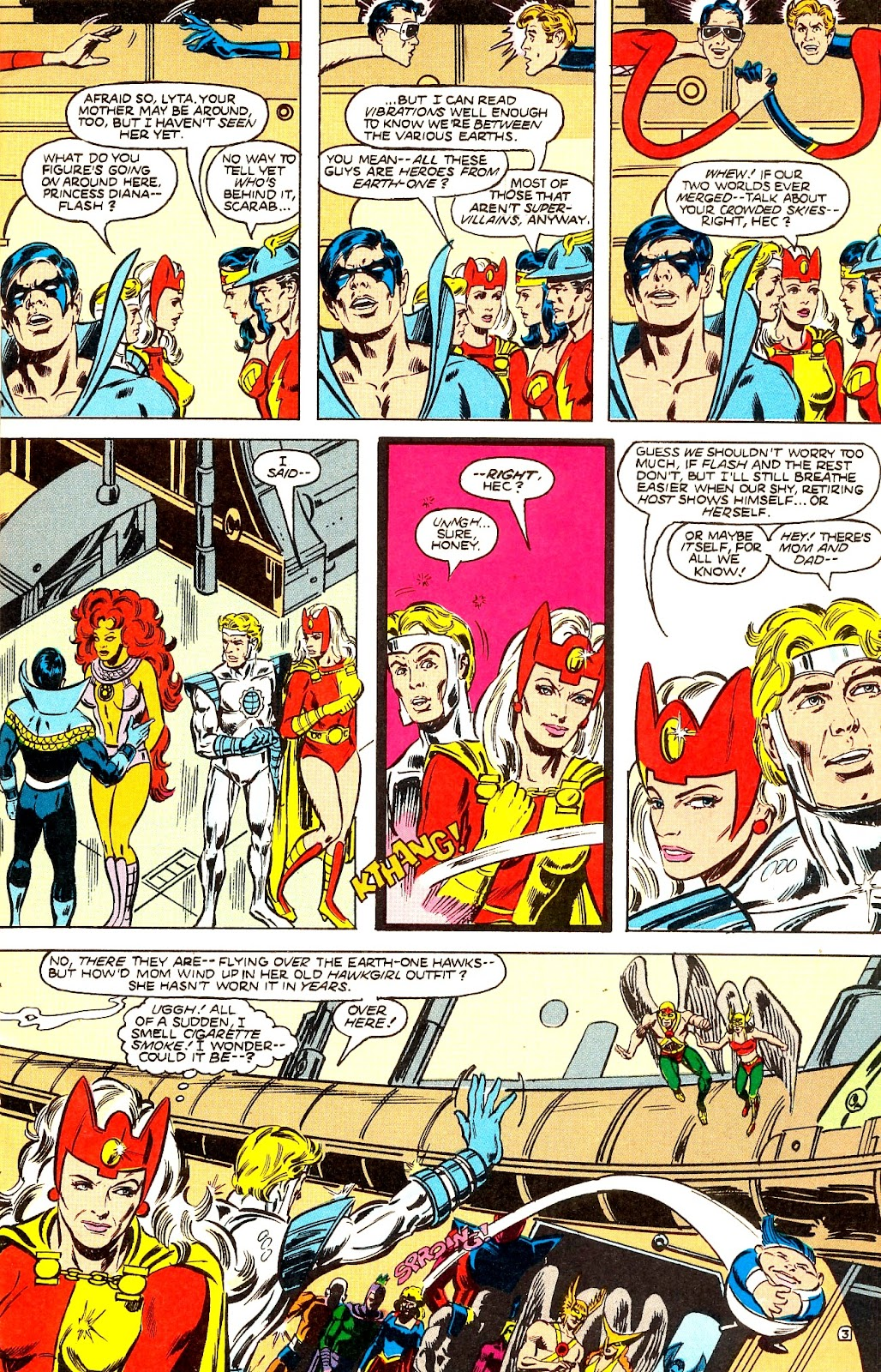 Infinity Inc. (1984) issue 22 - Page 5