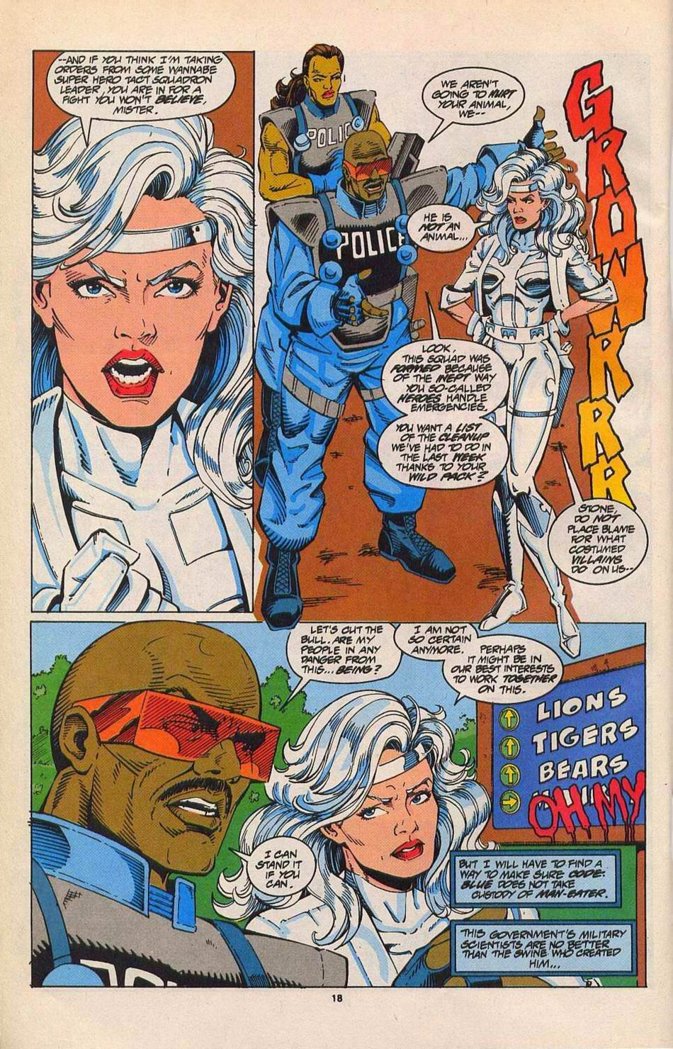 Read online Silver Sable and the Wild Pack comic -  Issue #27 - 15