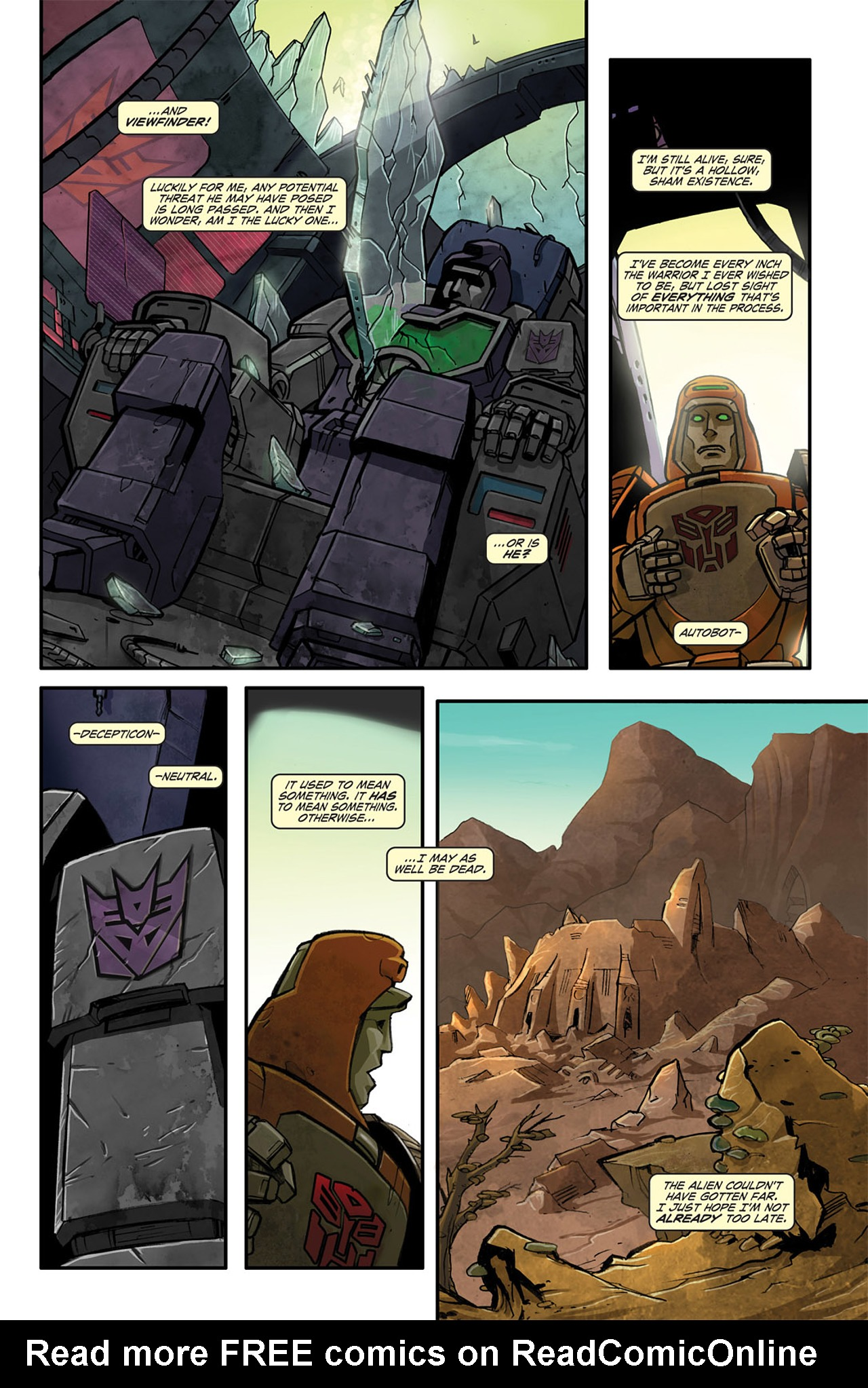 Read online Transformers Spotlight: Wheelie comic -  Issue # Full - 18