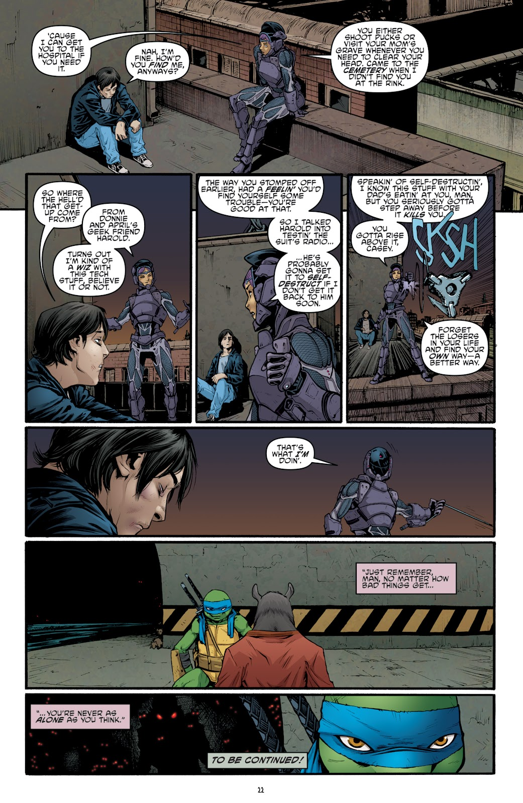 Read online Teenage Mutant Ninja Turtles: The IDW Collection comic -  Issue # TPB 4 (Part 3) - 76