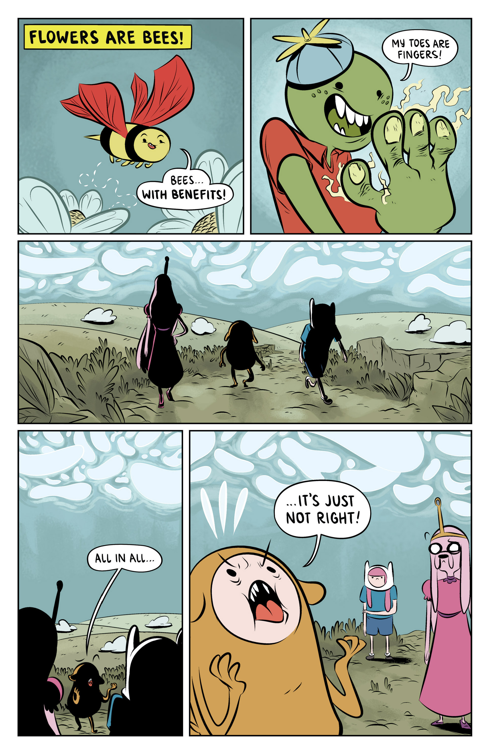 Read online Adventure Time: The Flip Side comic -  Issue #6 - 4