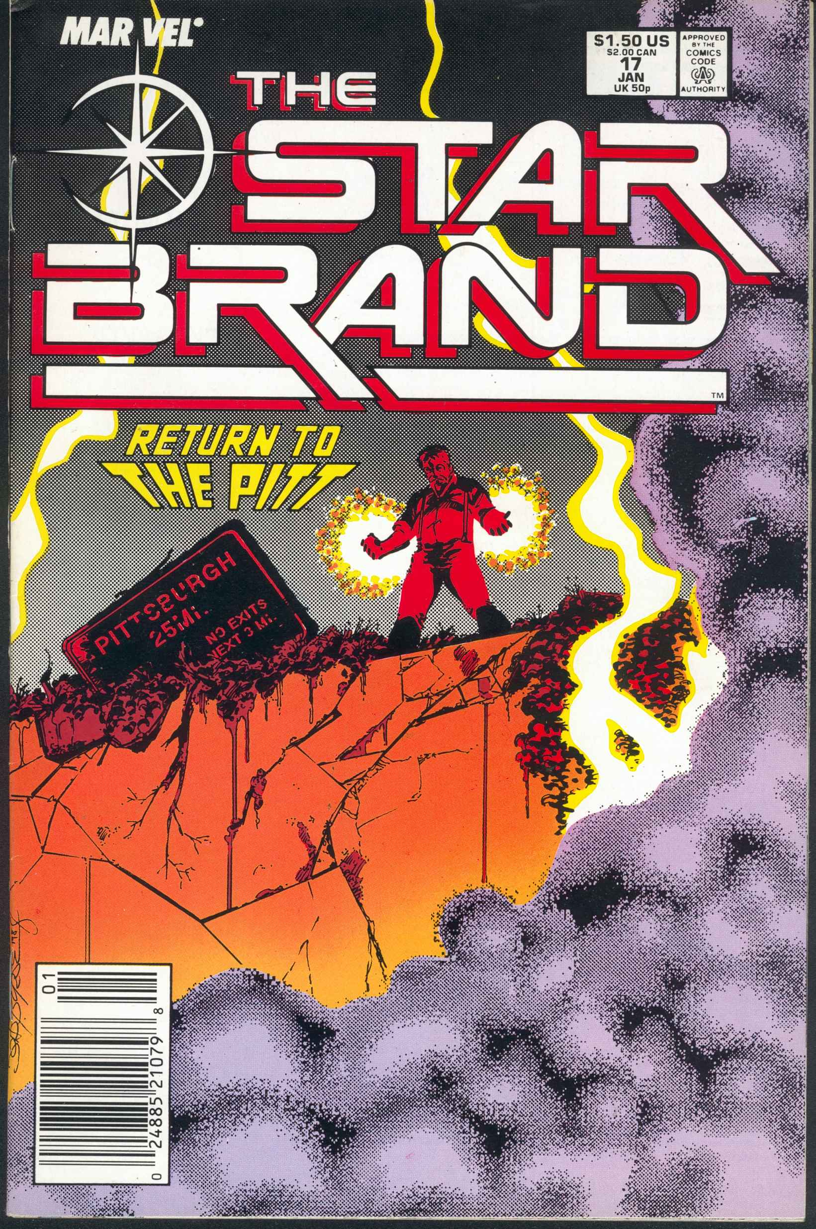Read online Star Brand comic -  Issue #17 - 1