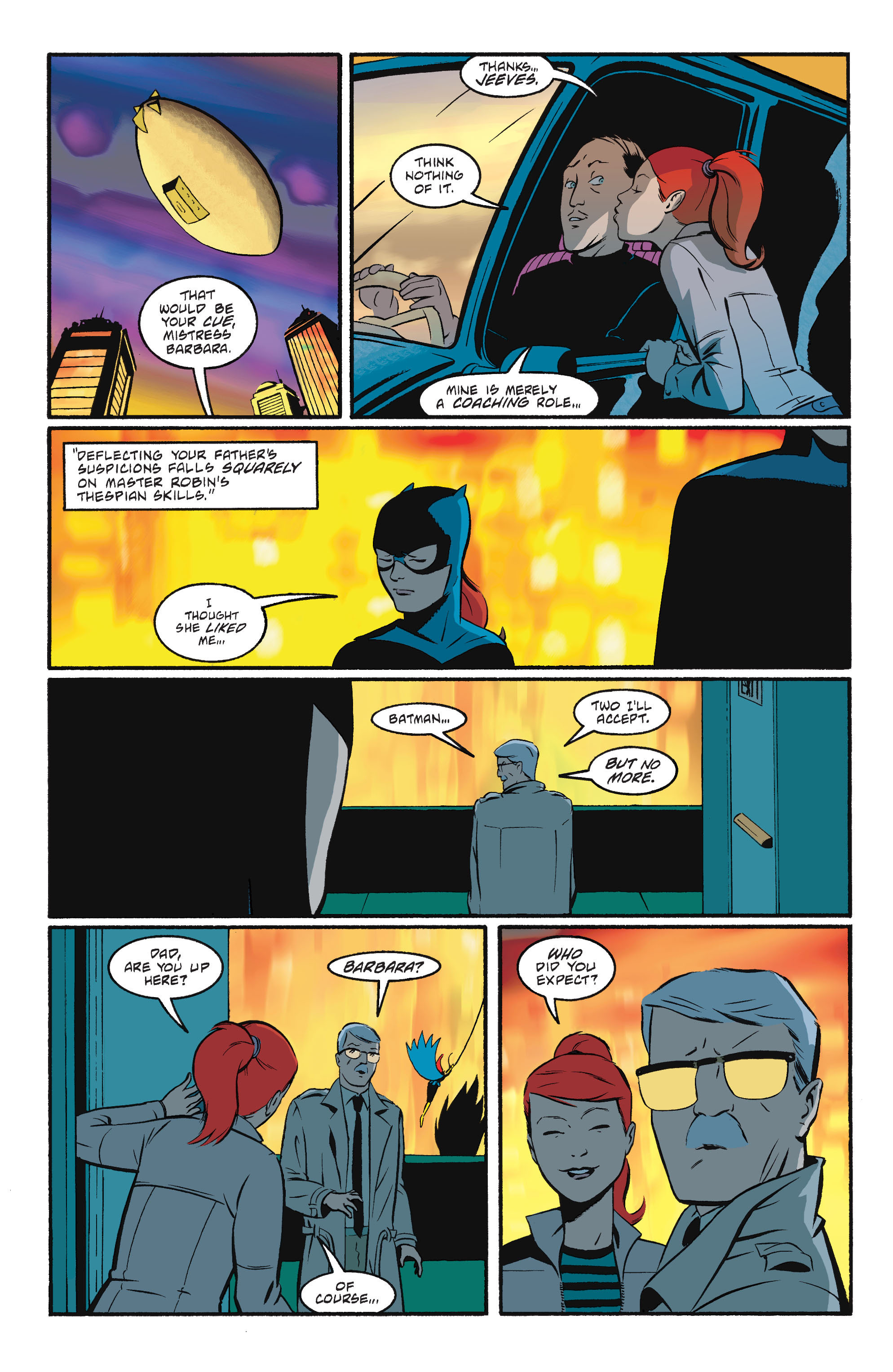 Read online Batgirl/Robin: Year One comic -  Issue # TPB 2 - 196