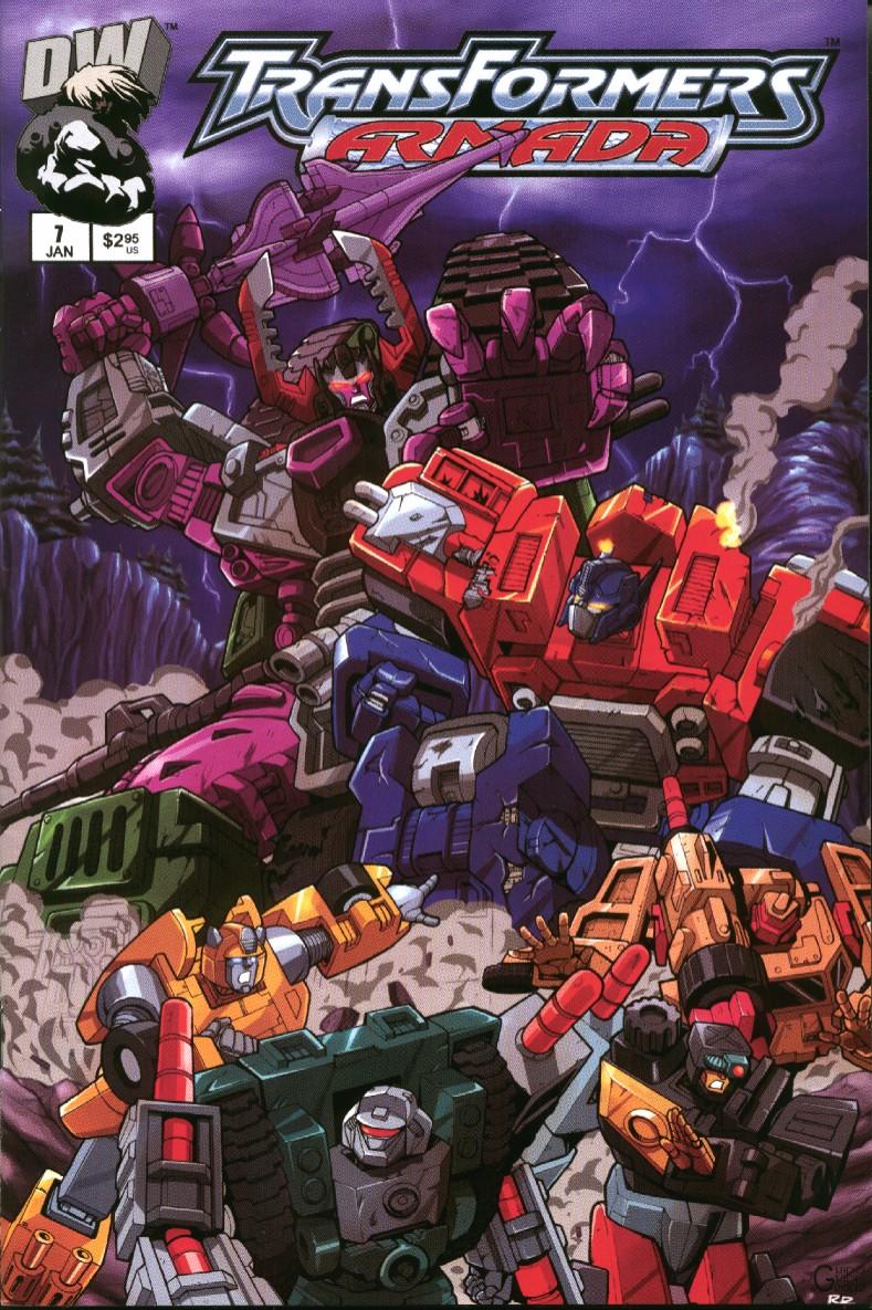 Read online Transformers Armada comic -  Issue #7 - 1