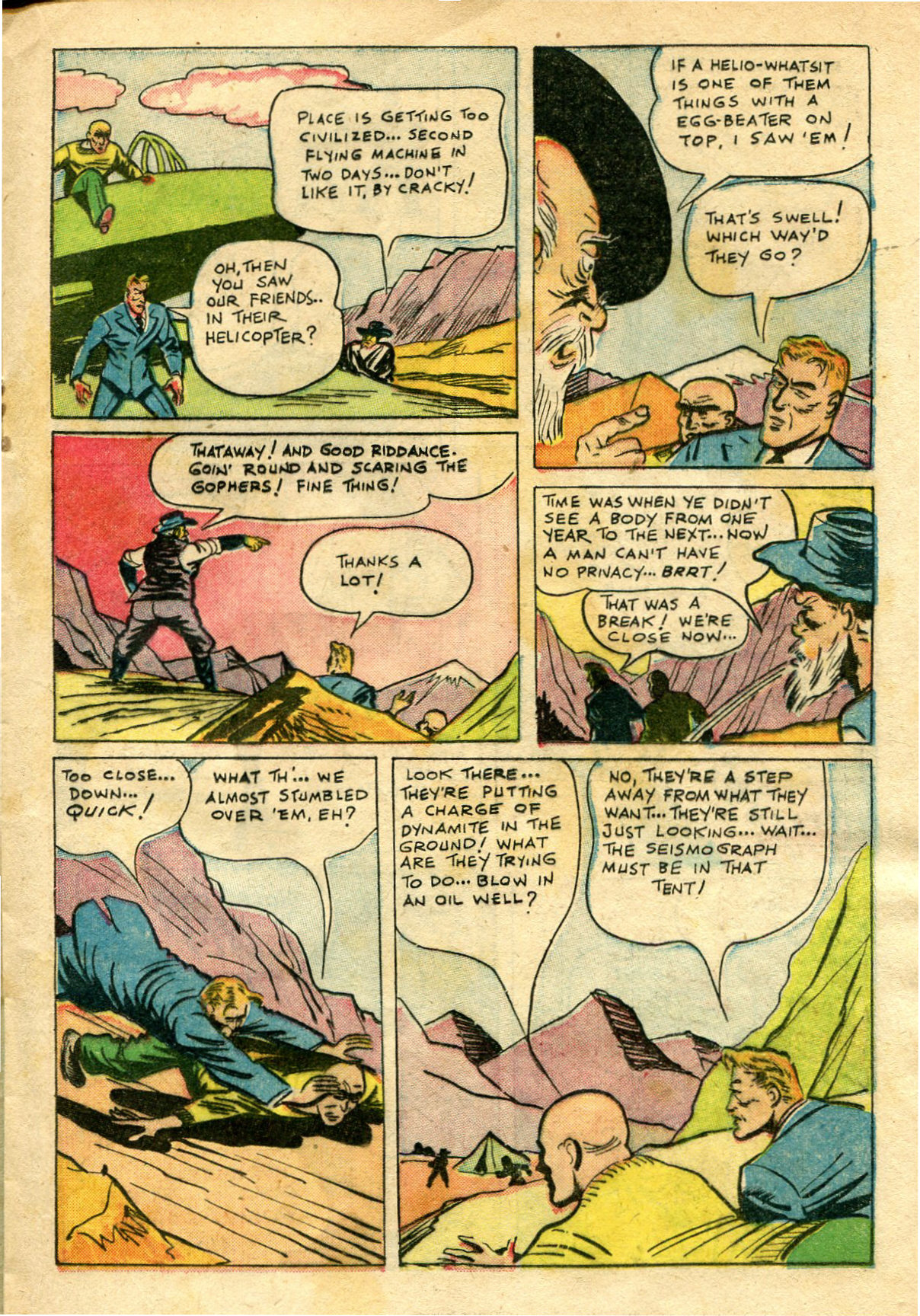 Read online Shadow Comics comic -  Issue #65 - 23