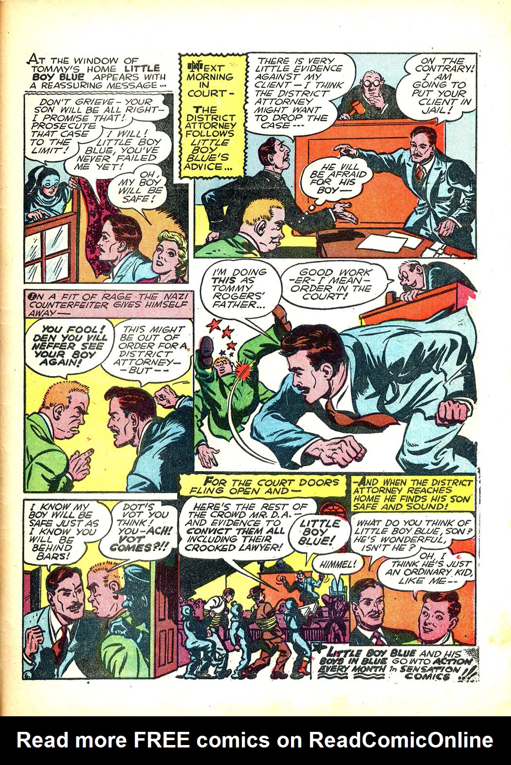 Read online Sensation (Mystery) Comics comic -  Issue #12 - 51