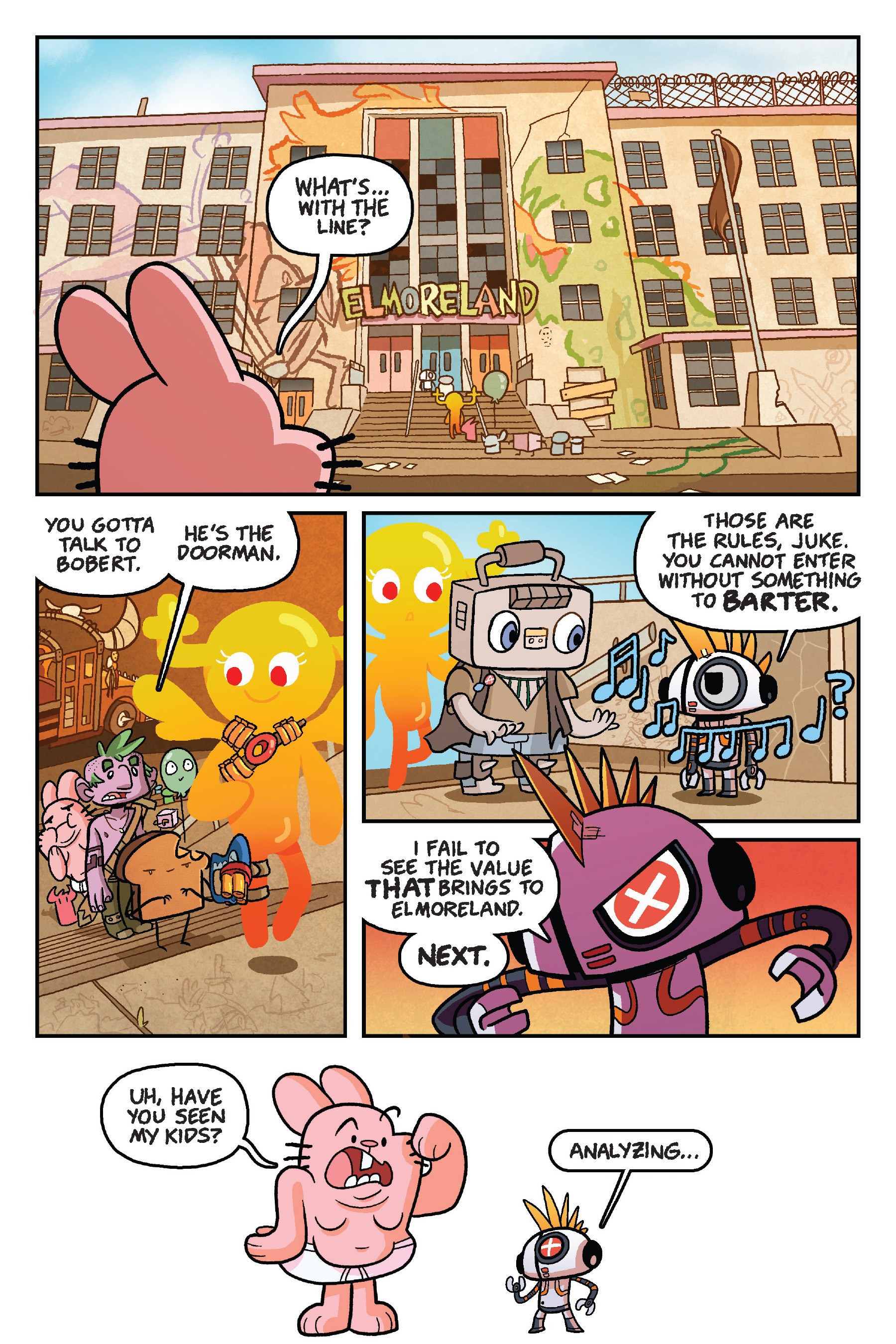 Read online The Amazing World of Gumball: Fairy Tale Trouble comic -  Issue # Full - 141