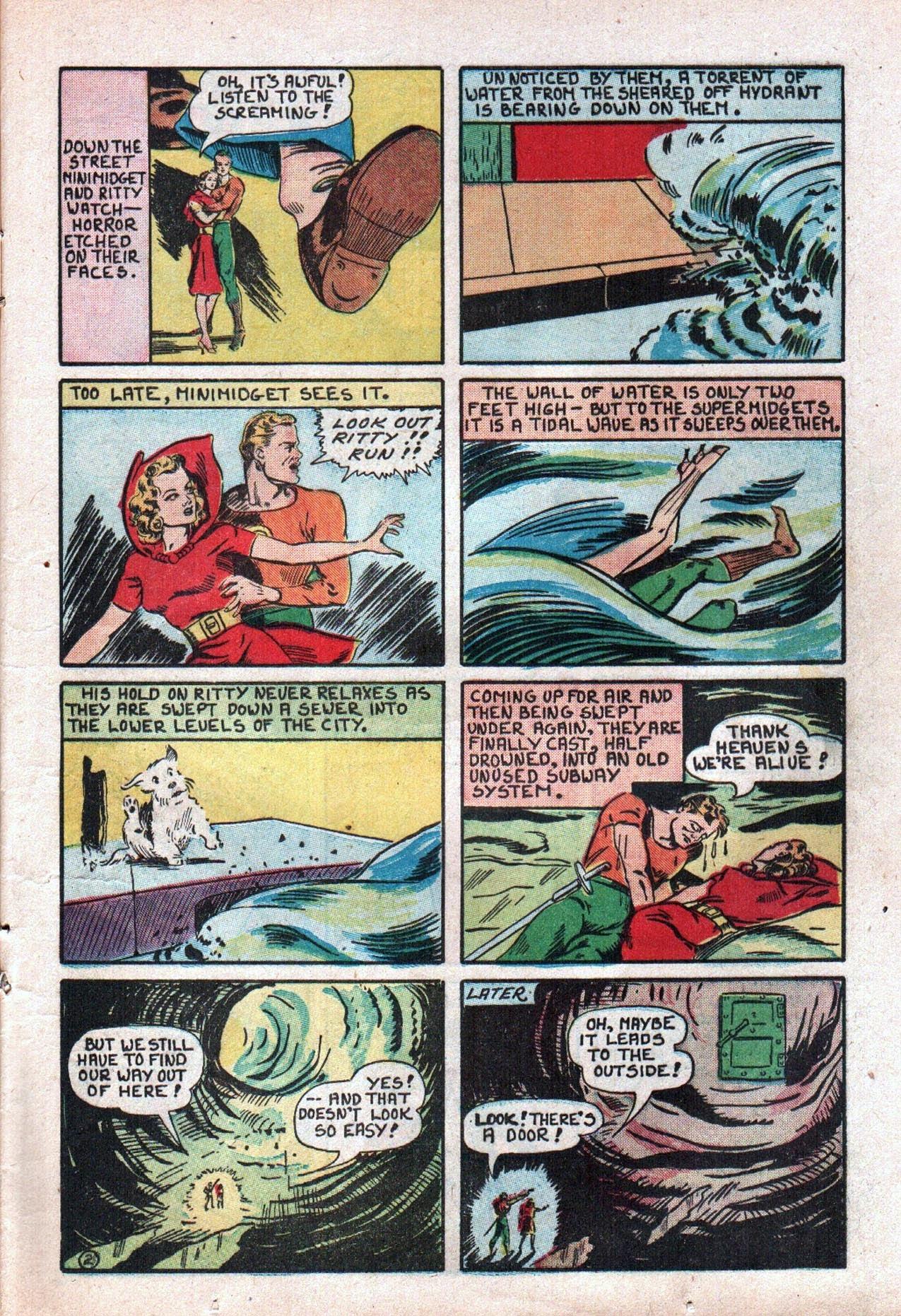 Read online Amazing Man Comics comic -  Issue #20 - 24