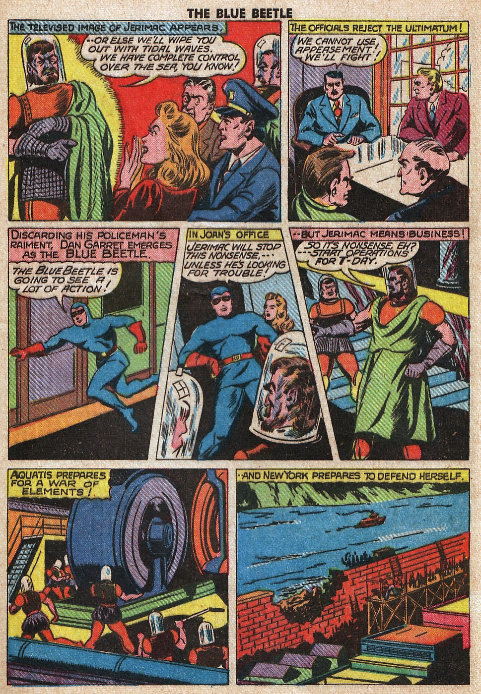 The Blue Beetle issue 33 - Page 41