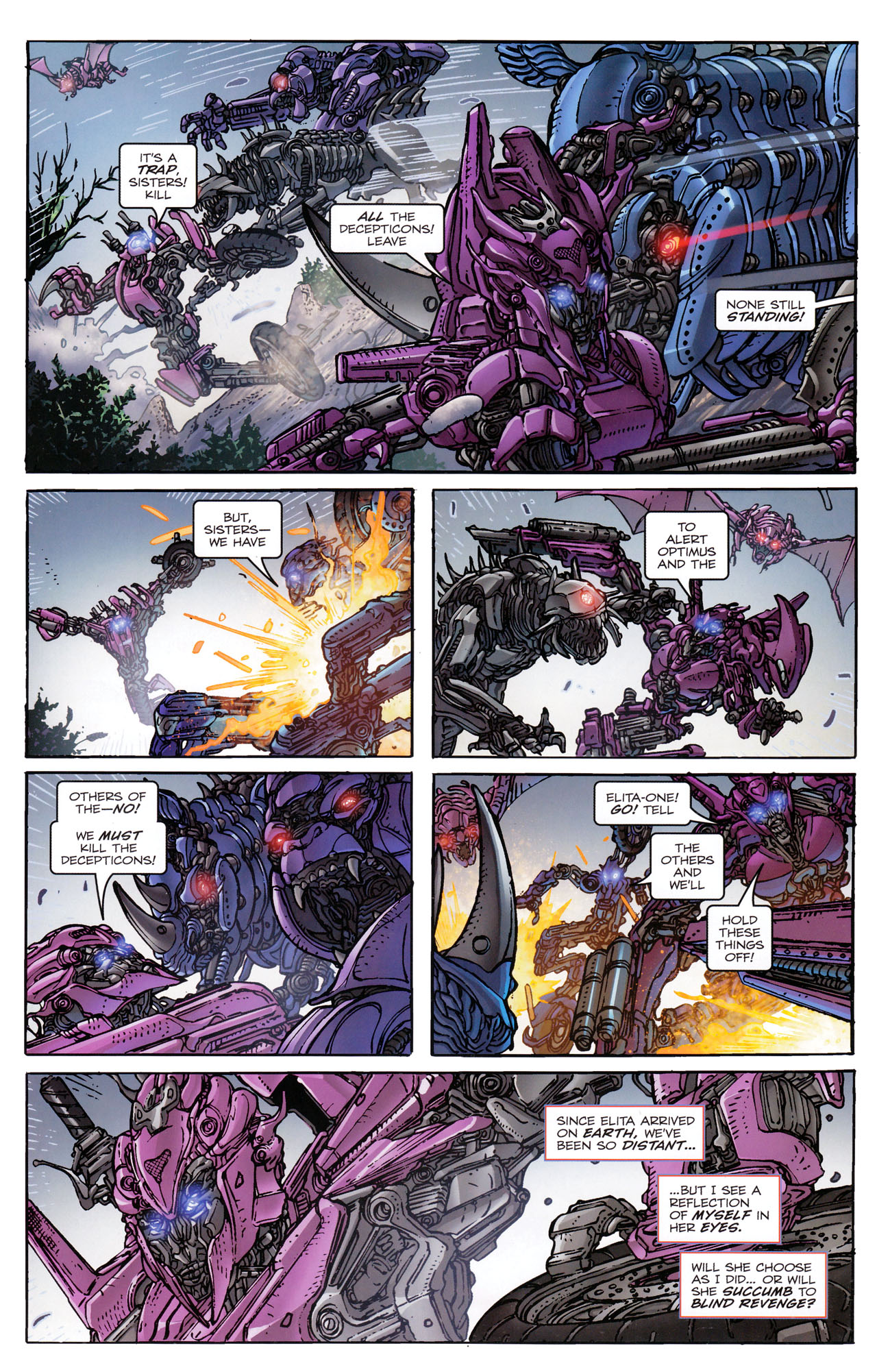 Read online Transformers: Dark of the Moon Rising Storm comic -  Issue #3 - 16