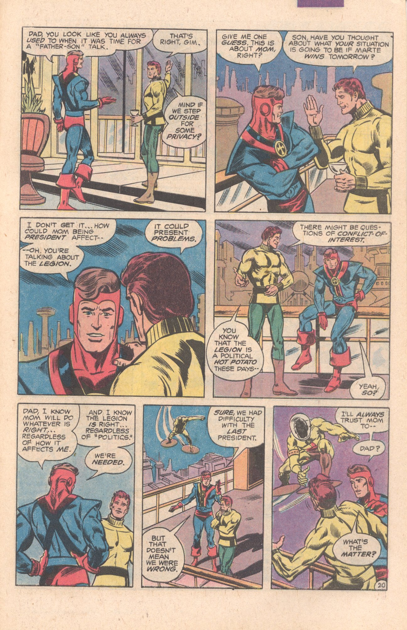 Legion of Super-Heroes (1980) 269 Page 21