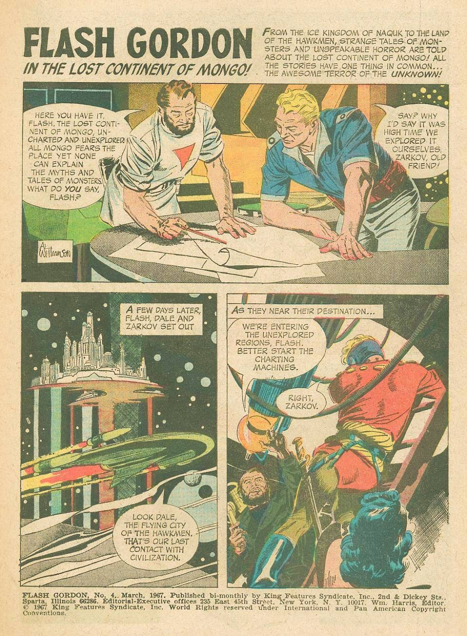 Flash Gordon (1966) issue 4 - Page 3