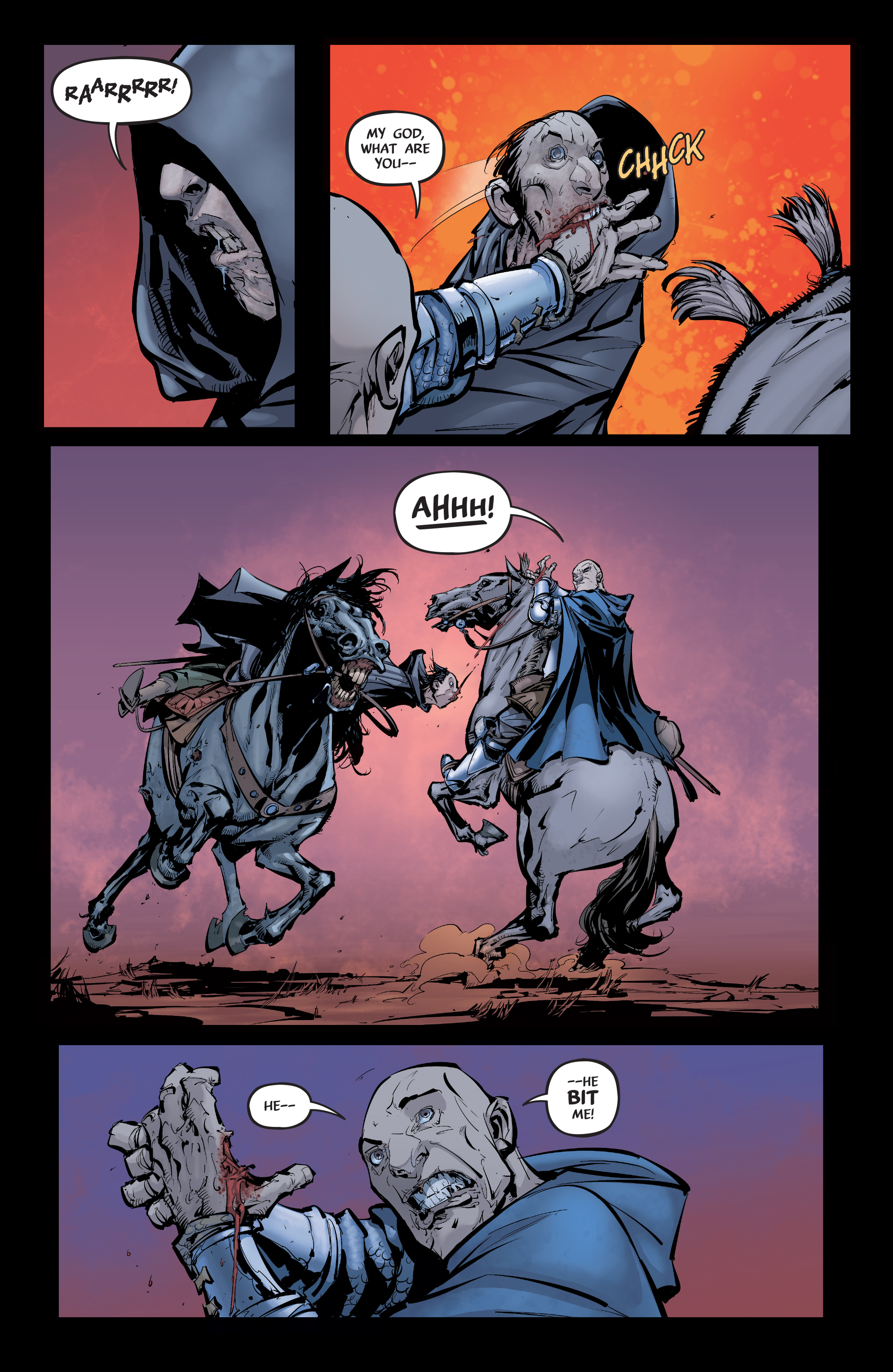 Read online Pestilence comic -  Issue #1 - 18