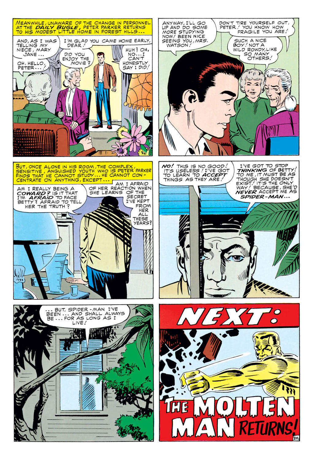The Amazing Spider-Man (1963) 34 Page 20