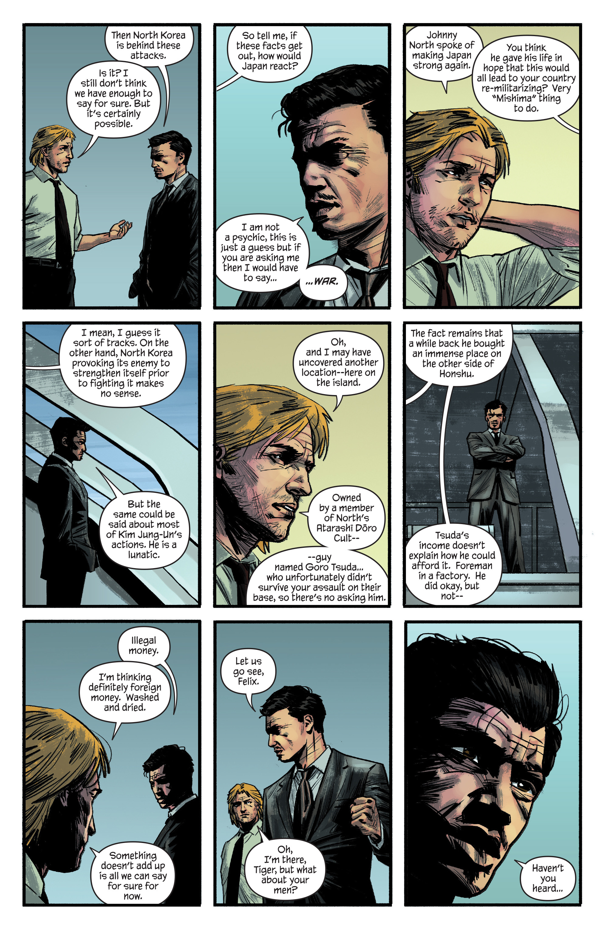 Read online James Bond: Felix Leiter comic -  Issue #4 - 13