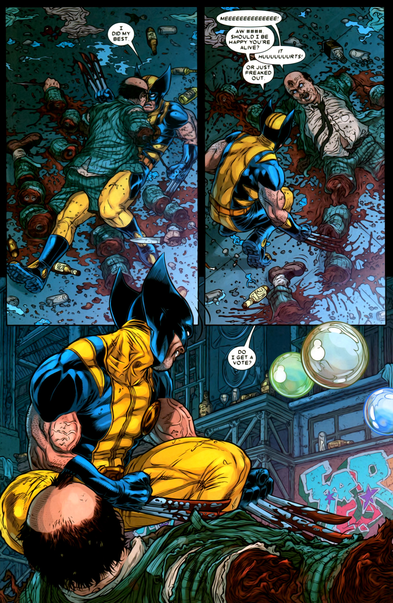 Read online Wolverine: The Best There Is comic -  Issue #2 - 10