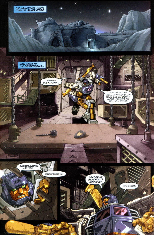 Read online Transformers Armada comic -  Issue #8 - 10