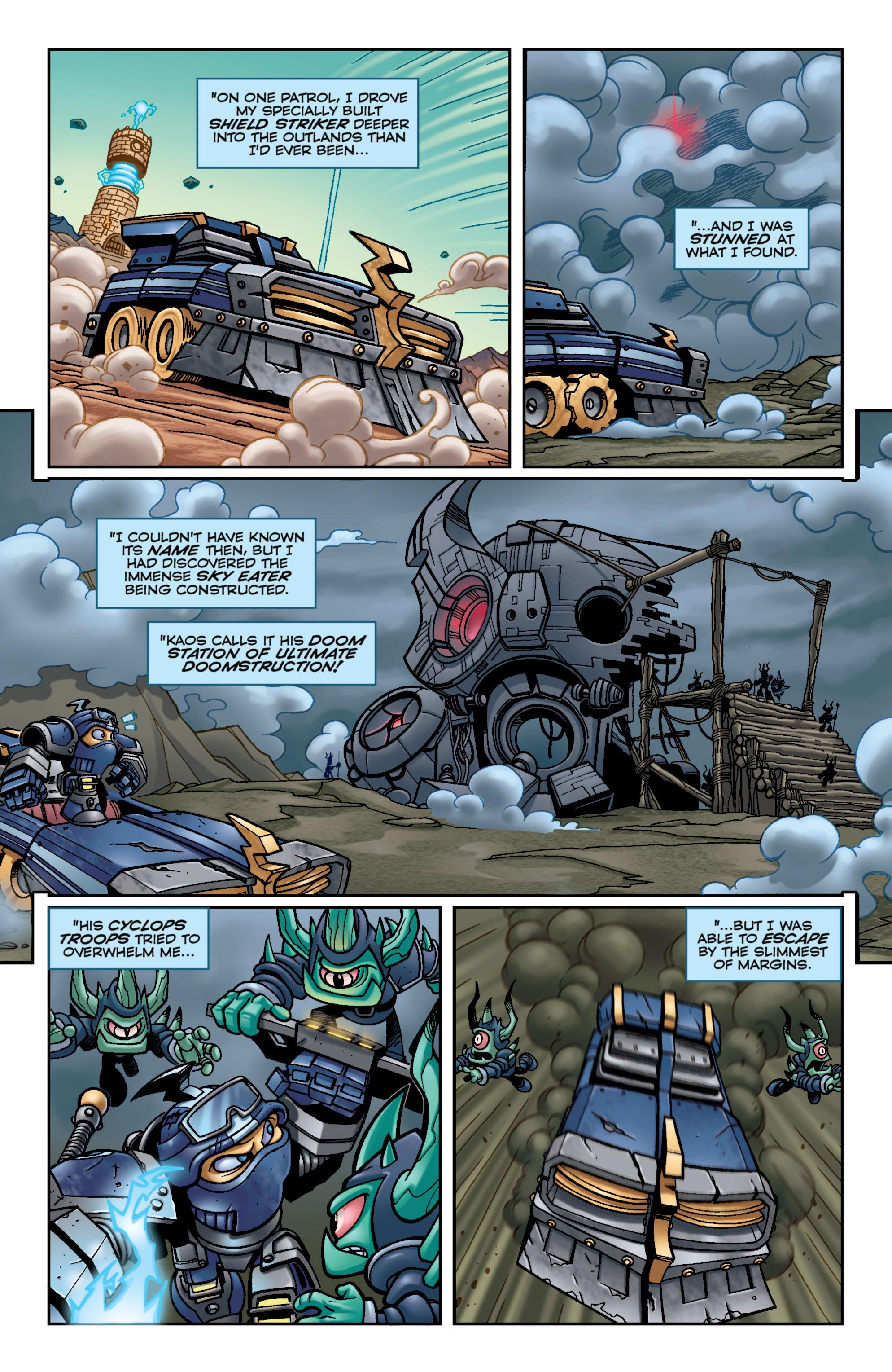 Read online Skylanders Superchargers comic -  Issue #6 - 20