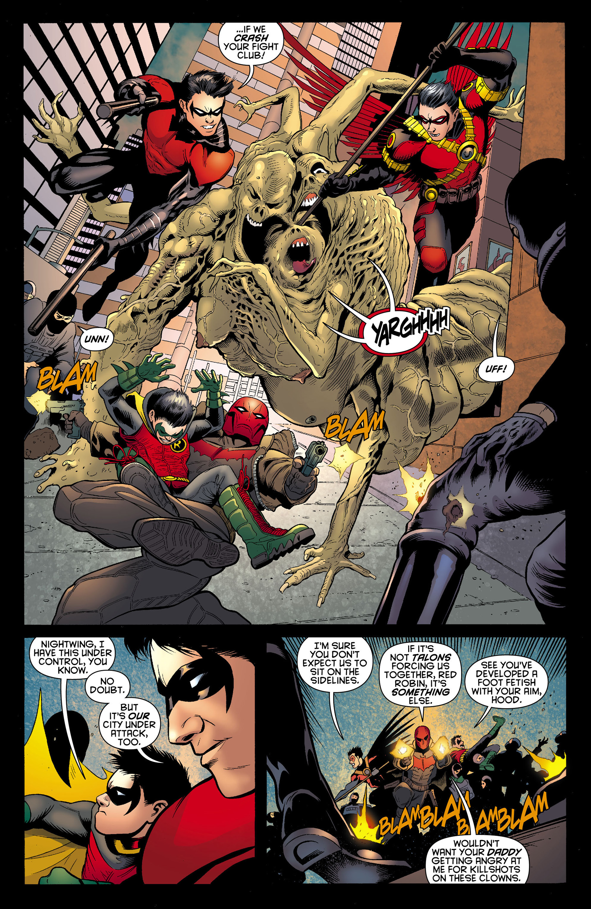 Read online Batman and Robin (2011) comic -  Issue #12 - 9