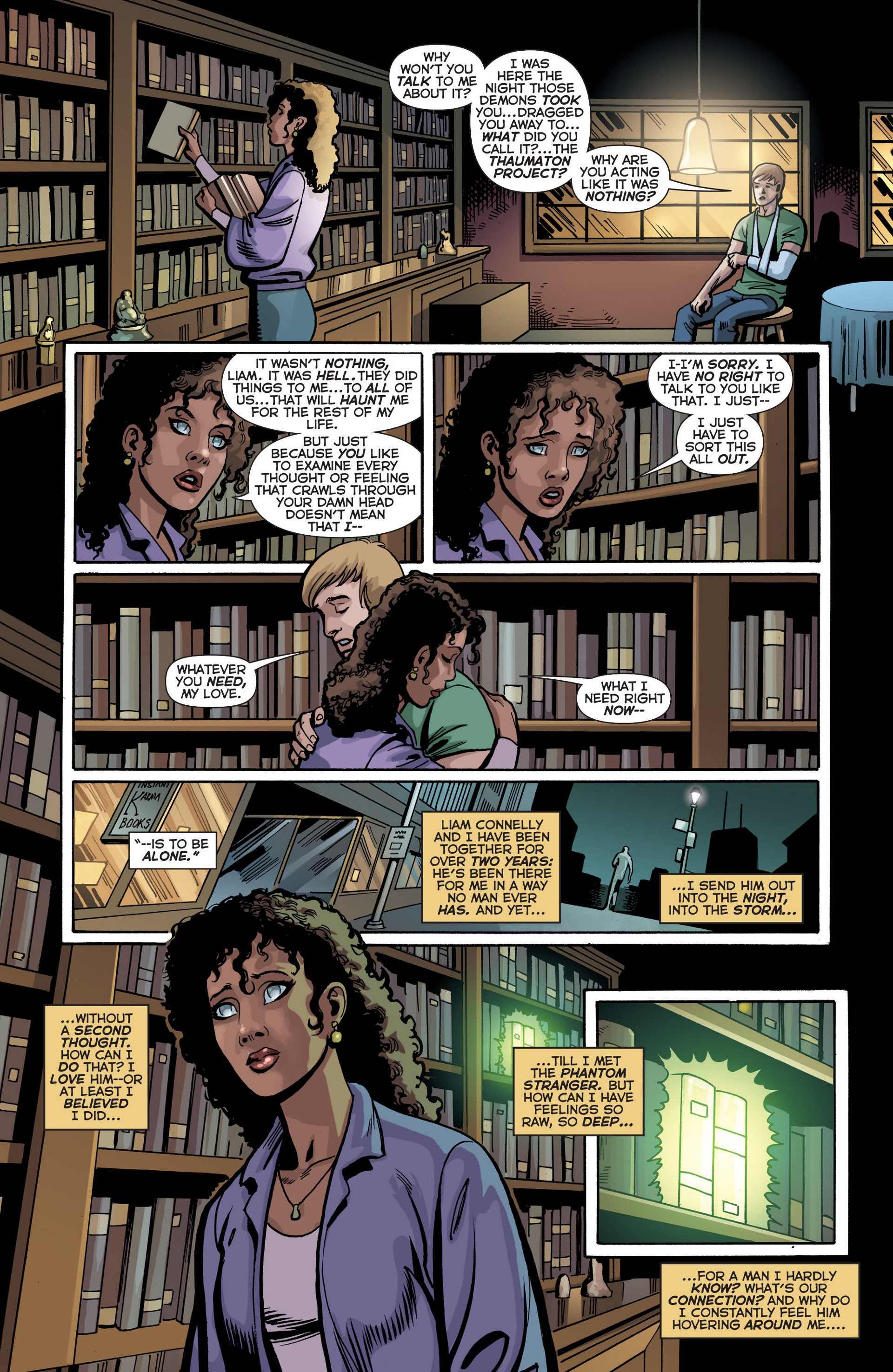 Read online Trinity of Sin: The Phantom Stranger comic -  Issue #18 - 12
