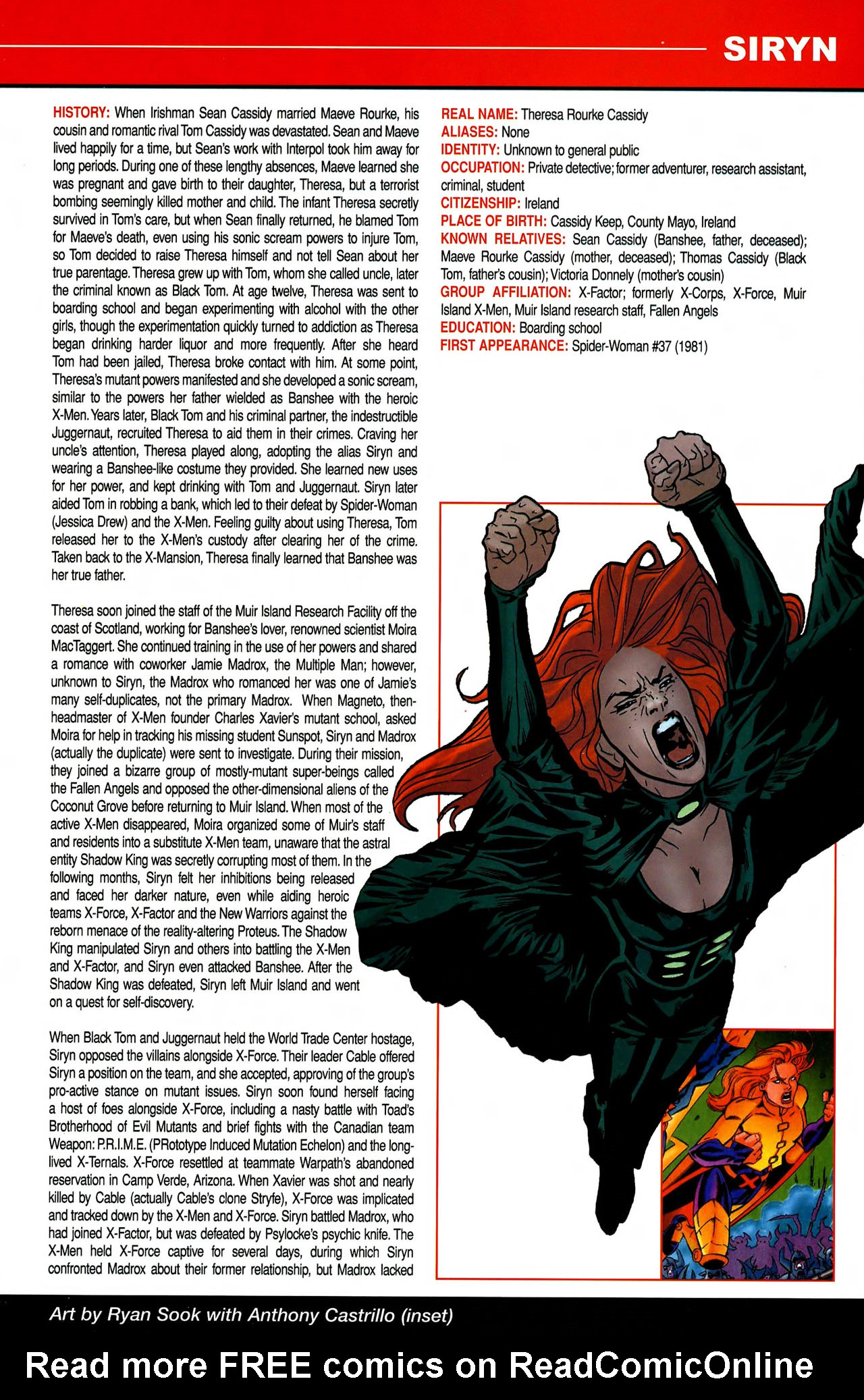 Read online All-New Official Handbook of the Marvel Universe A to Z comic -  Issue #10 - 17