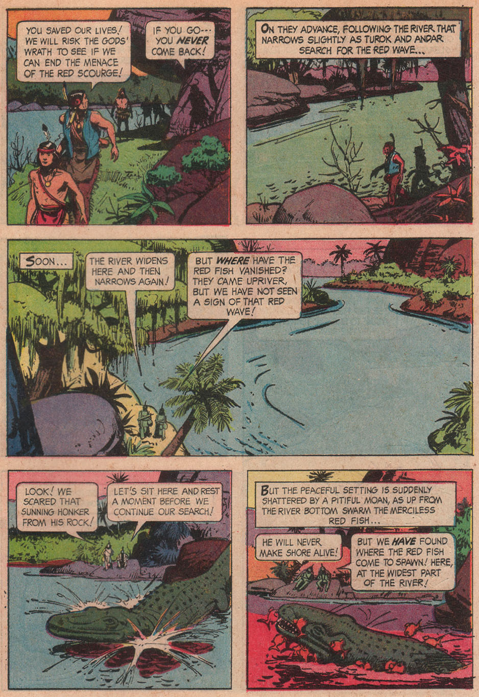 Read online Turok, Son of Stone comic -  Issue #51 - 29