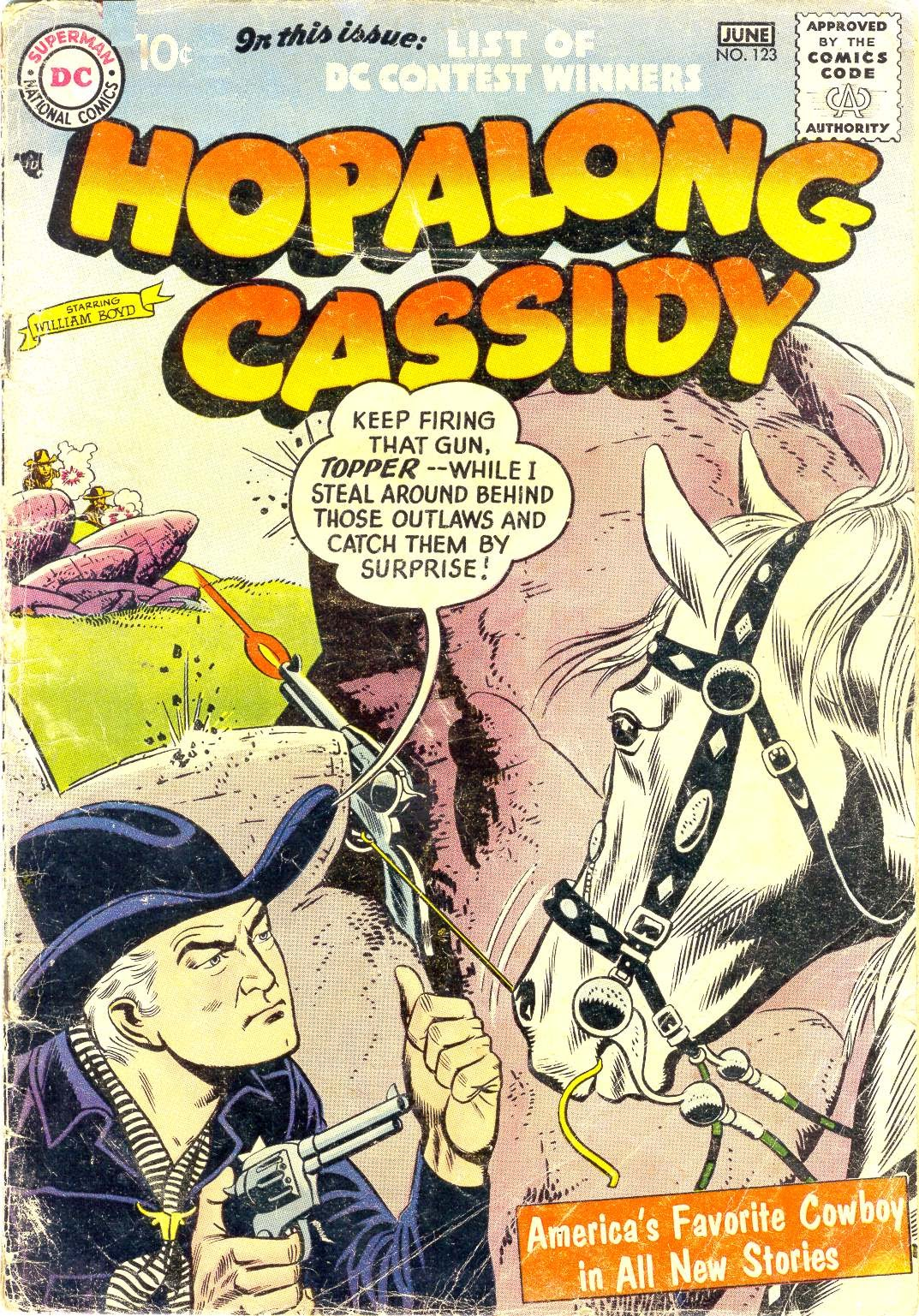 Hopalong Cassidy issue 123 - Page 1