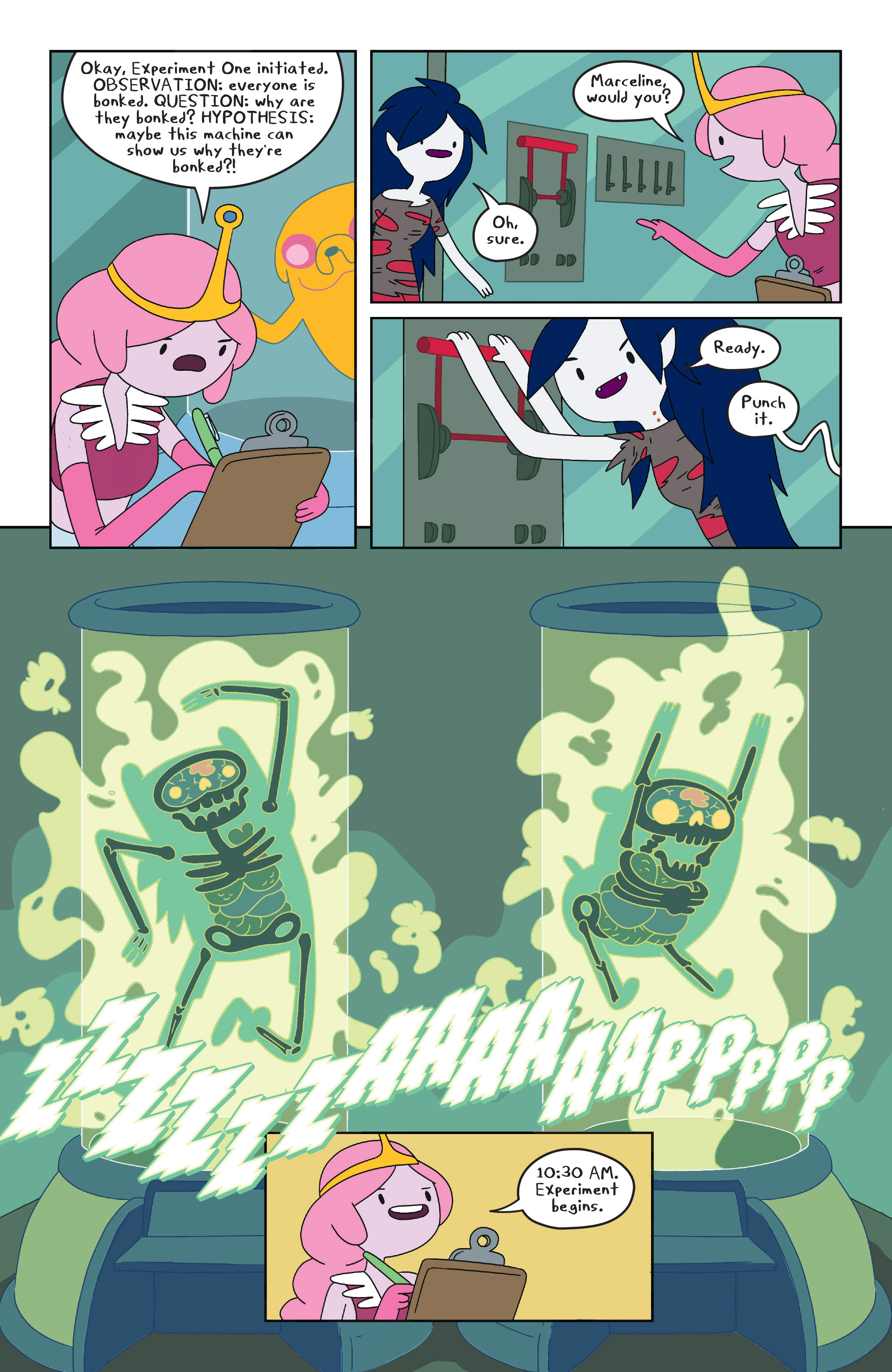 Read online Adventure Time comic -  Issue #23 - 17