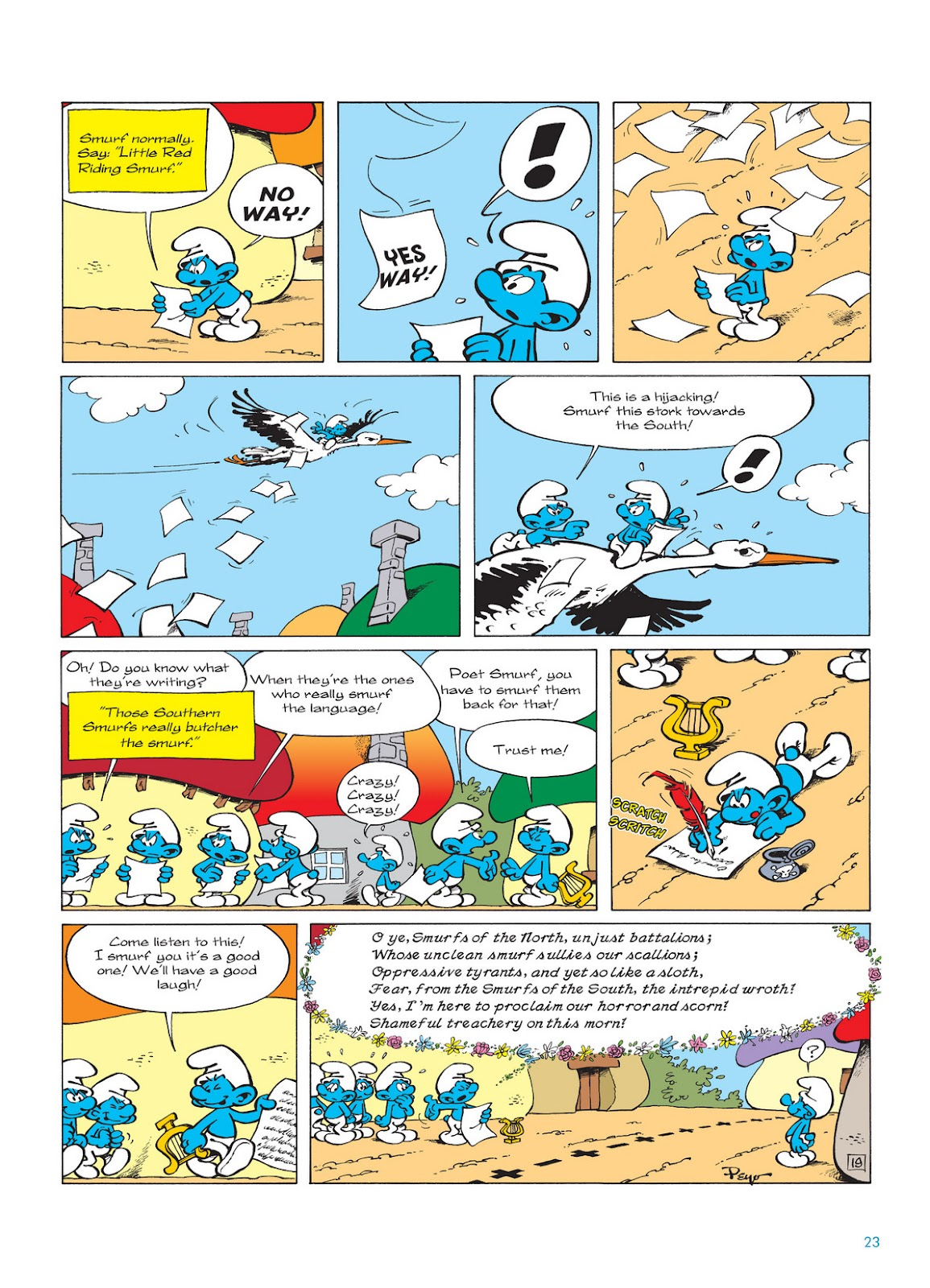 Read online The Smurfs comic -  Issue #12 - 23