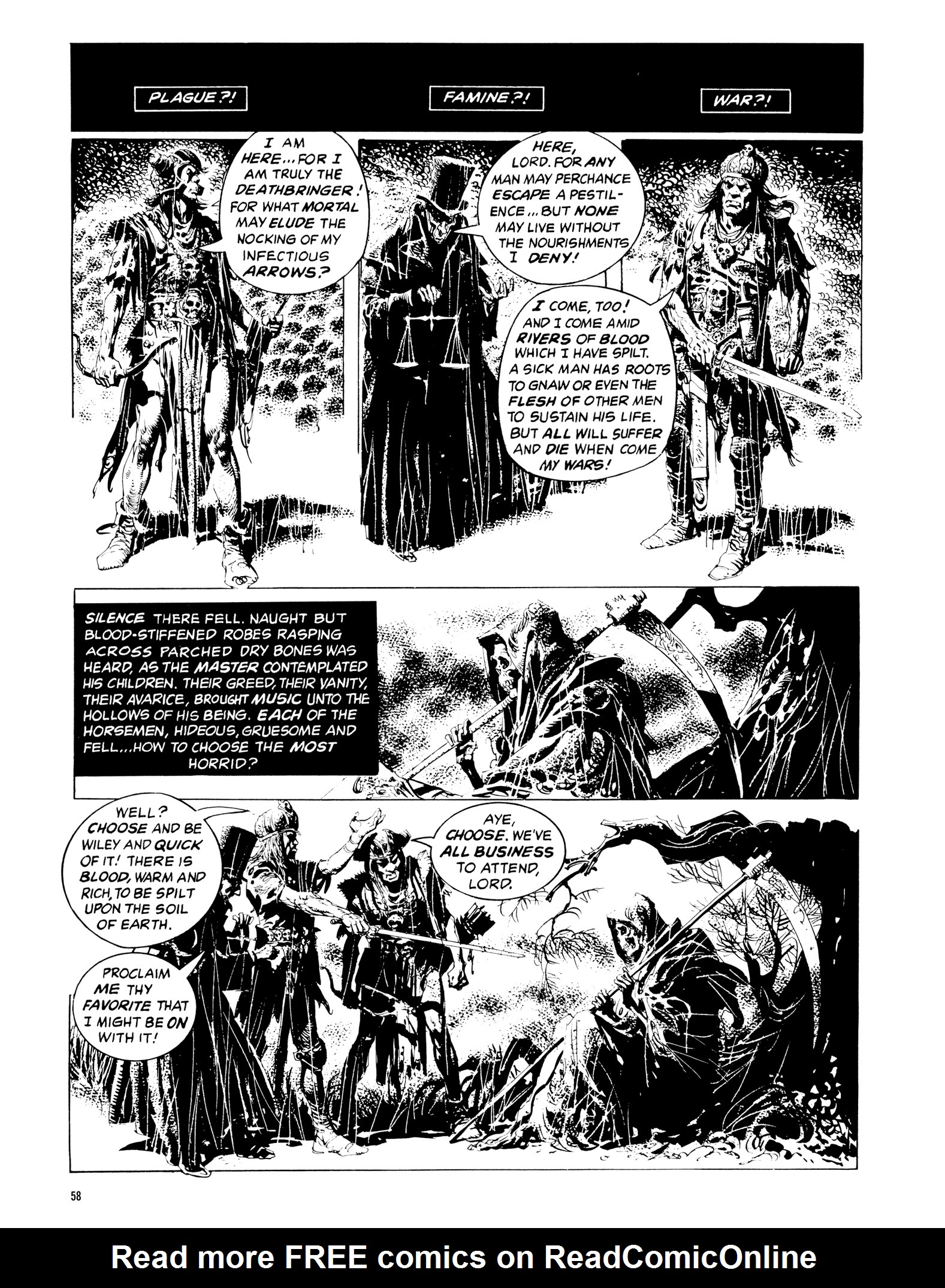 Read online Eerie Archives comic -  Issue # TPB 14 - 59