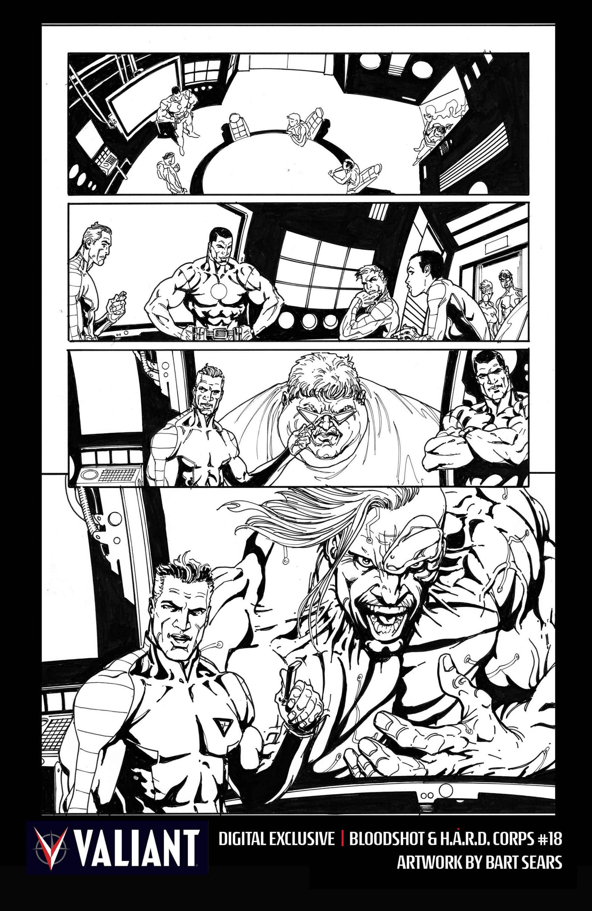 Read online Bloodshot and H.A.R.D.Corps comic -  Issue #18 - 31