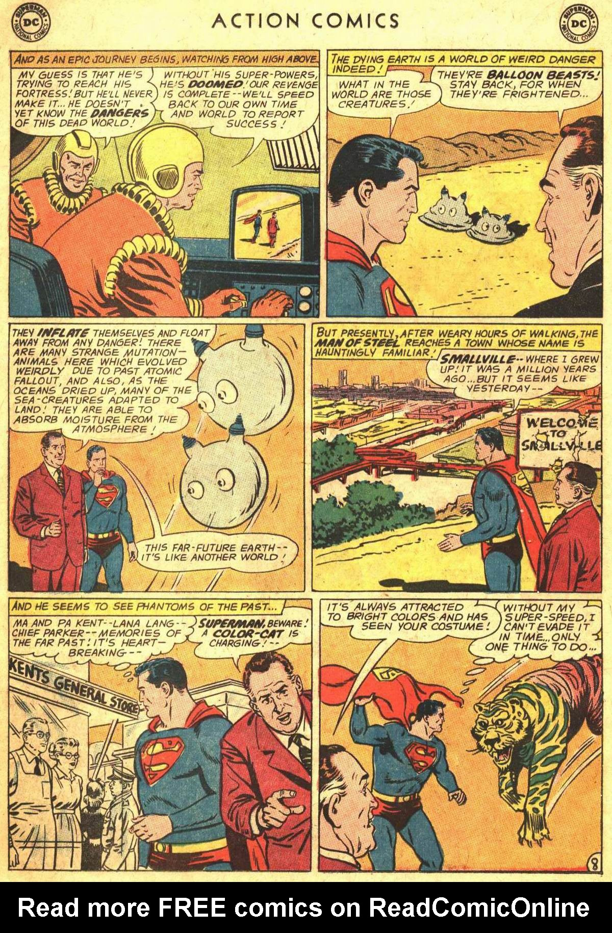 Read online Action Comics (1938) comic -  Issue #300 - 10