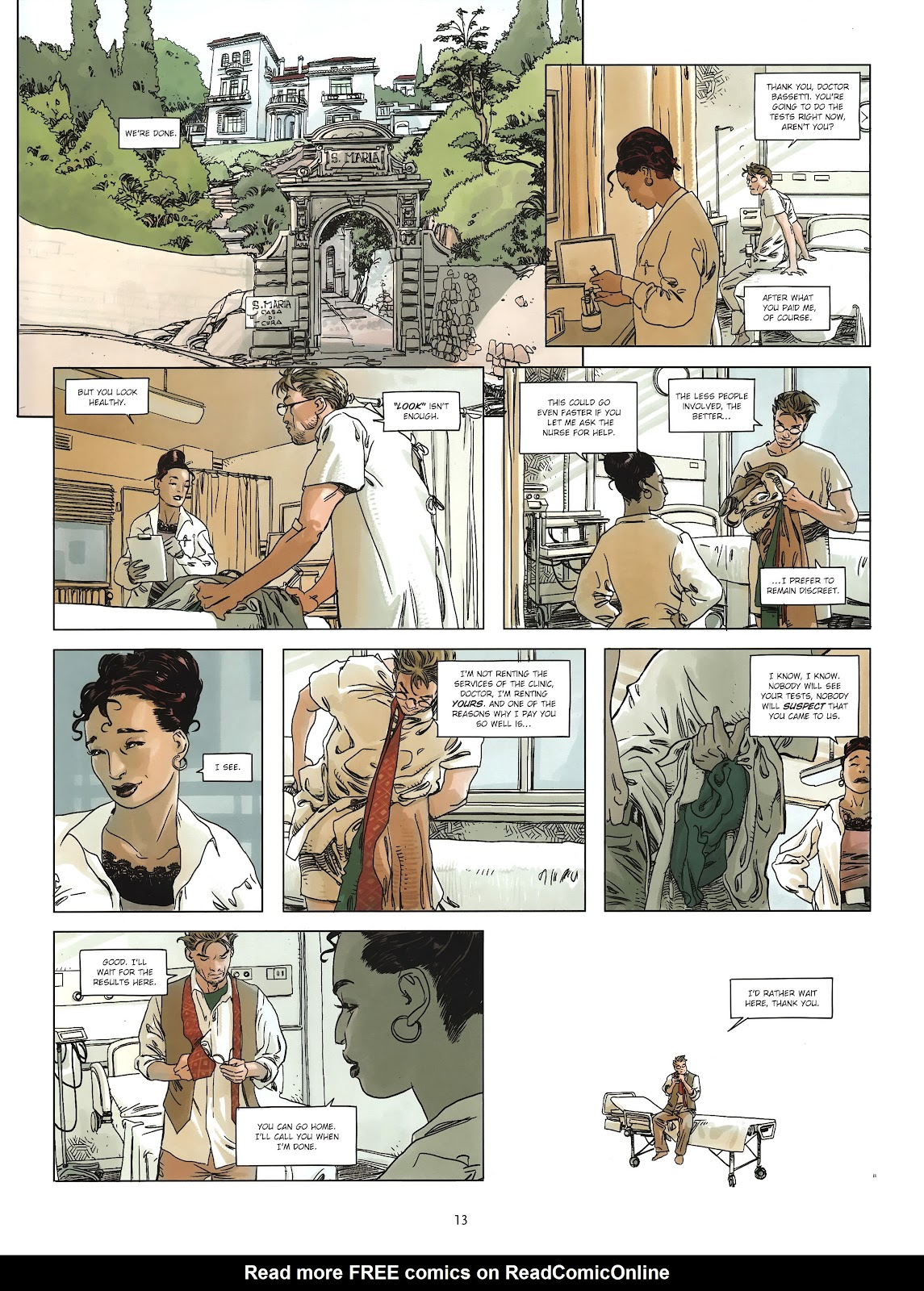 Read online Cutting Edge (2013) comic -  Issue #2 - 13