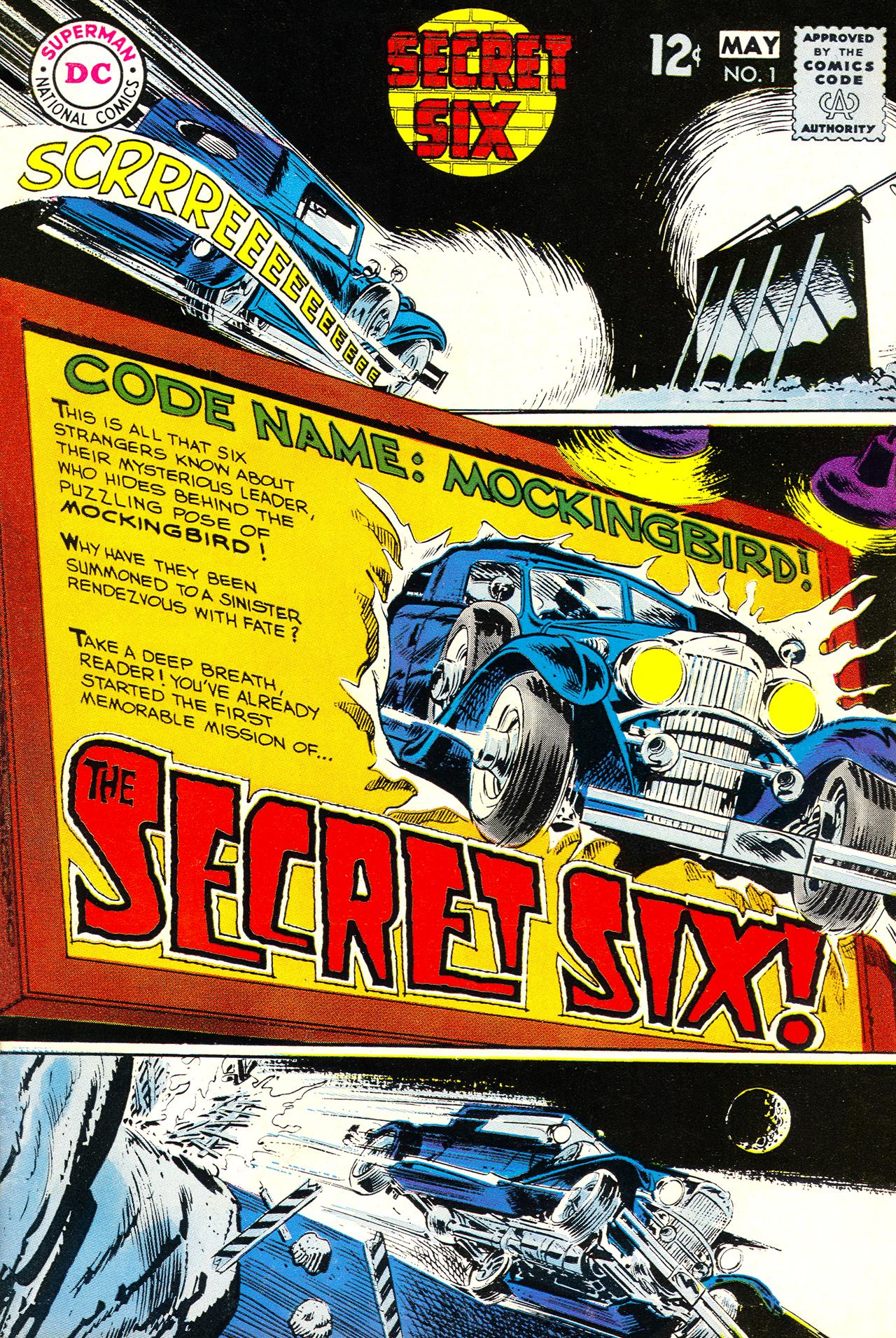 Secret Six (1968) 1 Page 1